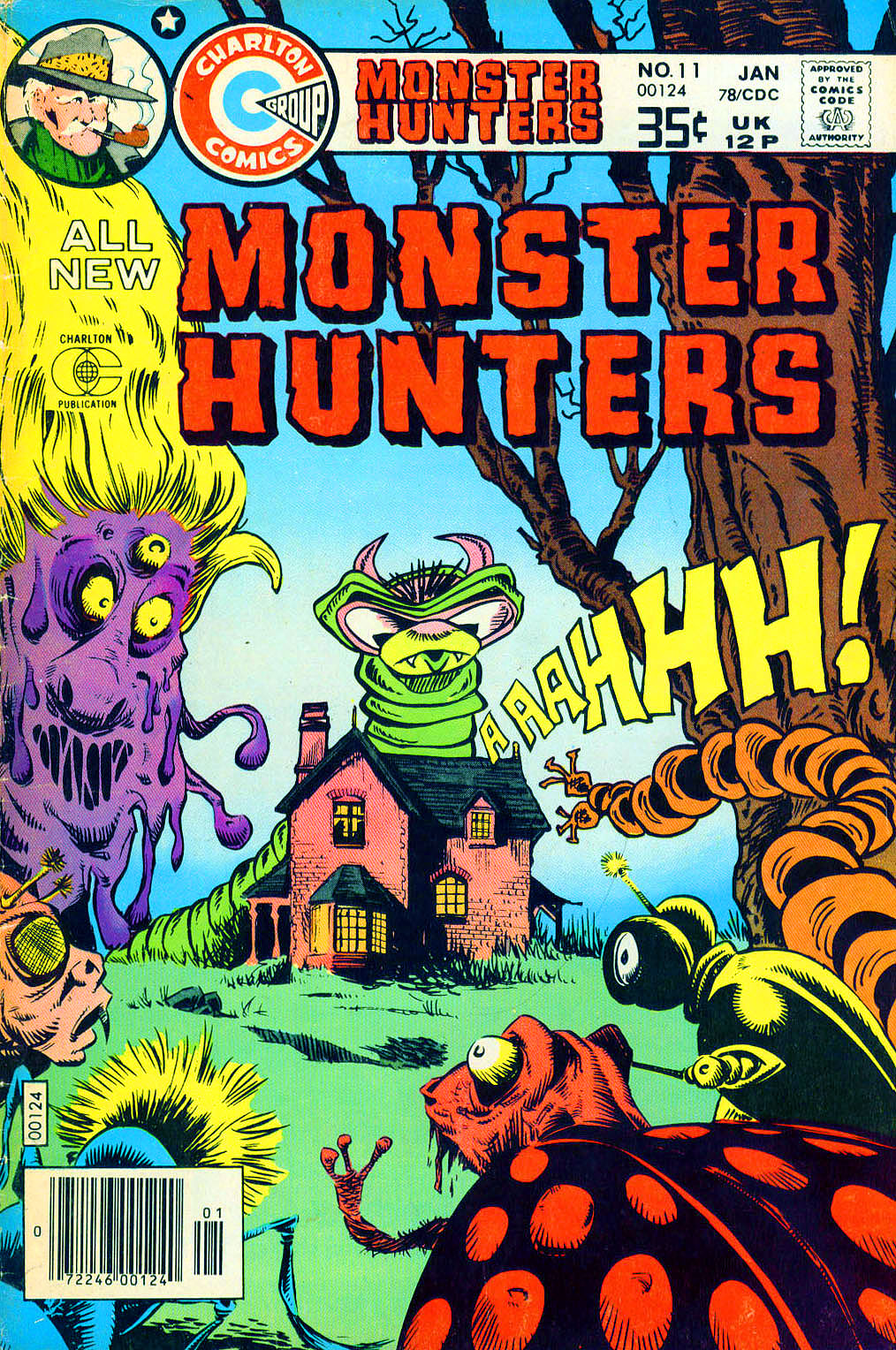 Monster Hunters issue 11 - Page 1