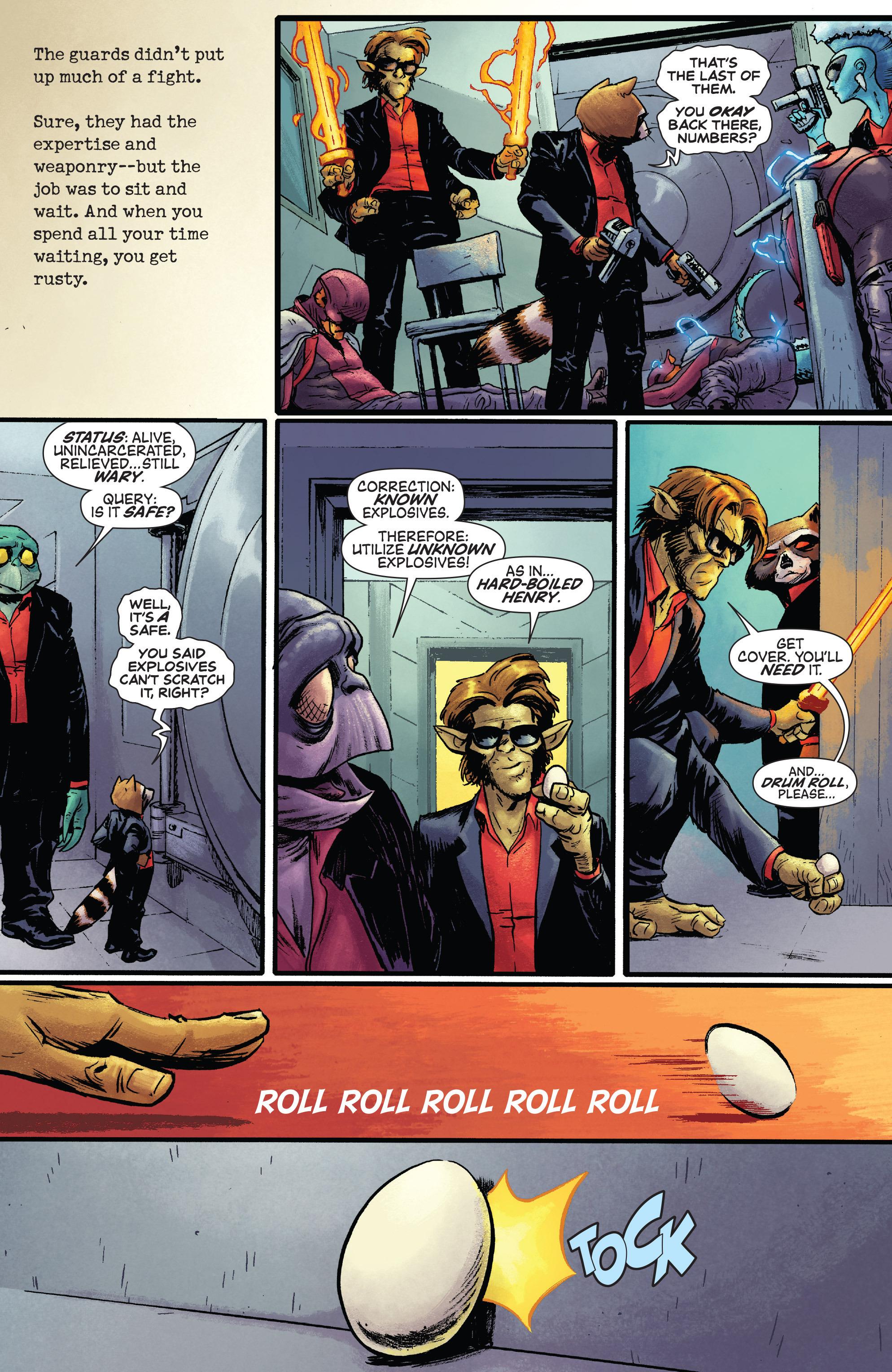 Read online Rocket comic -  Issue #1 - 19