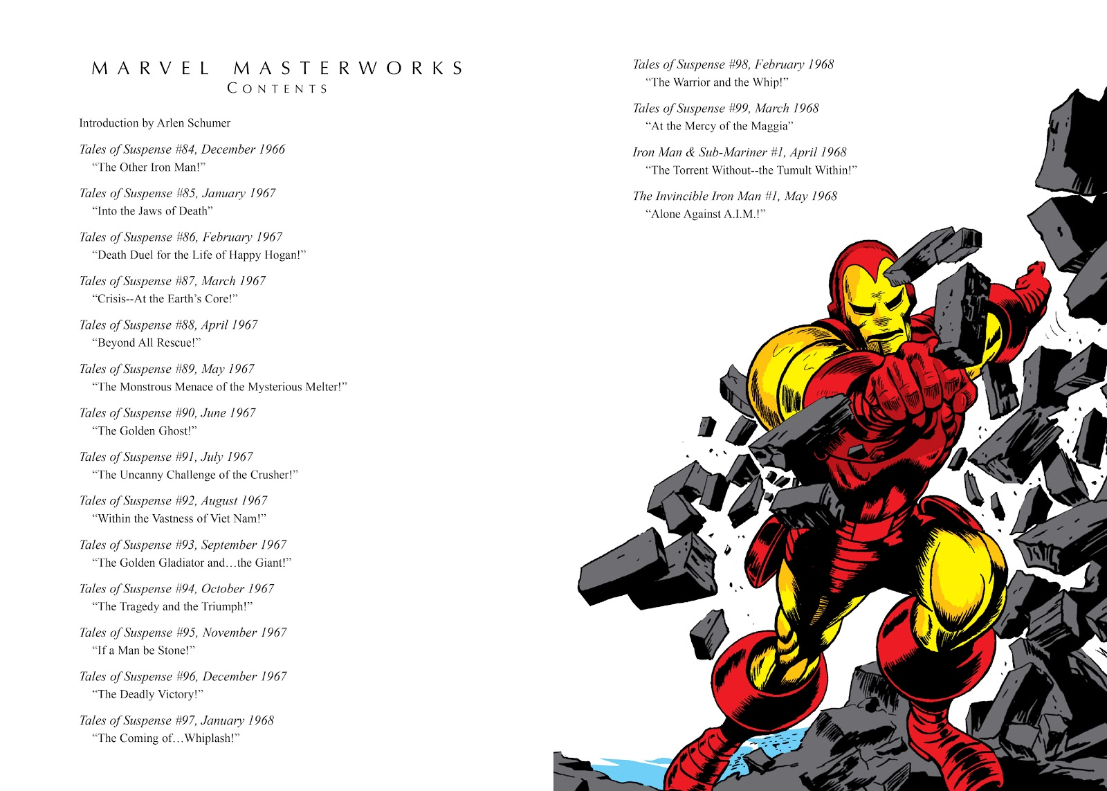 Read online Marvel Masterworks: The Invincible Iron Man comic -  Issue # TPB 4 (Part 1) - 4