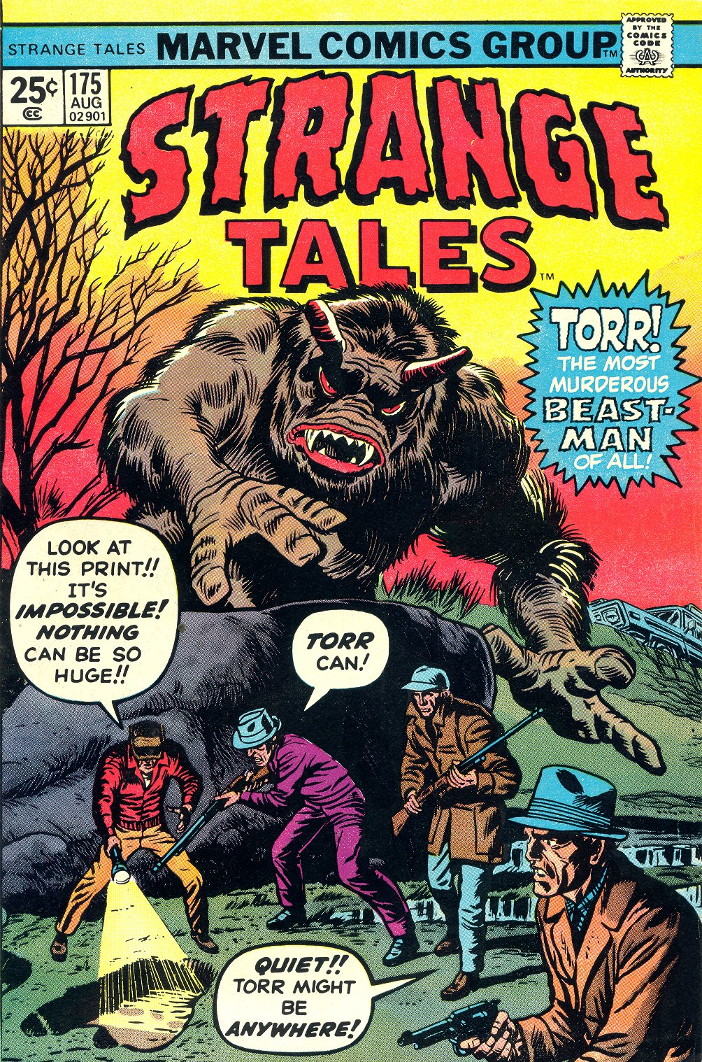 Strange Tales (1951) issue 175 - Page 1