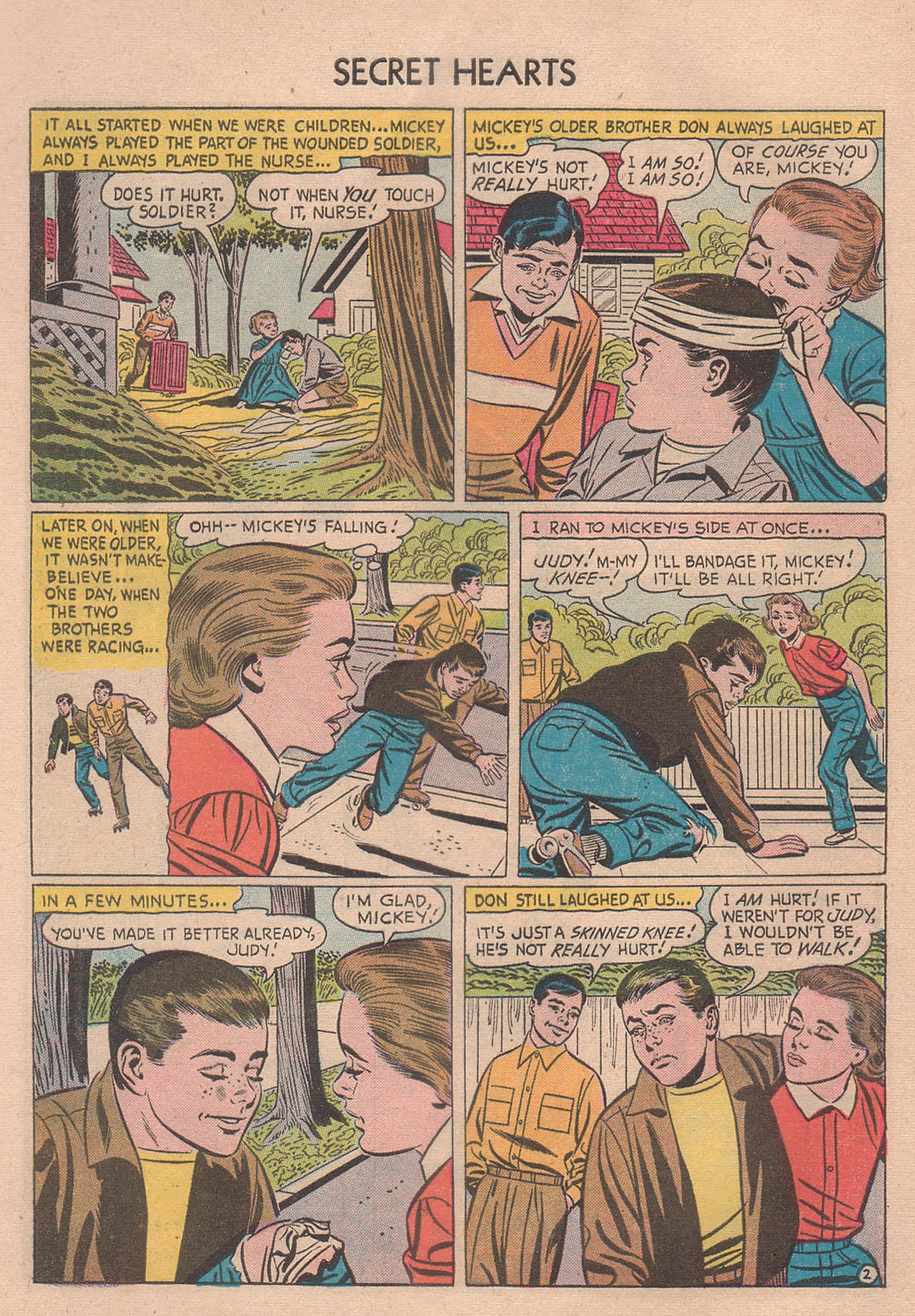 Read online Secret Hearts comic -  Issue #39 - 28