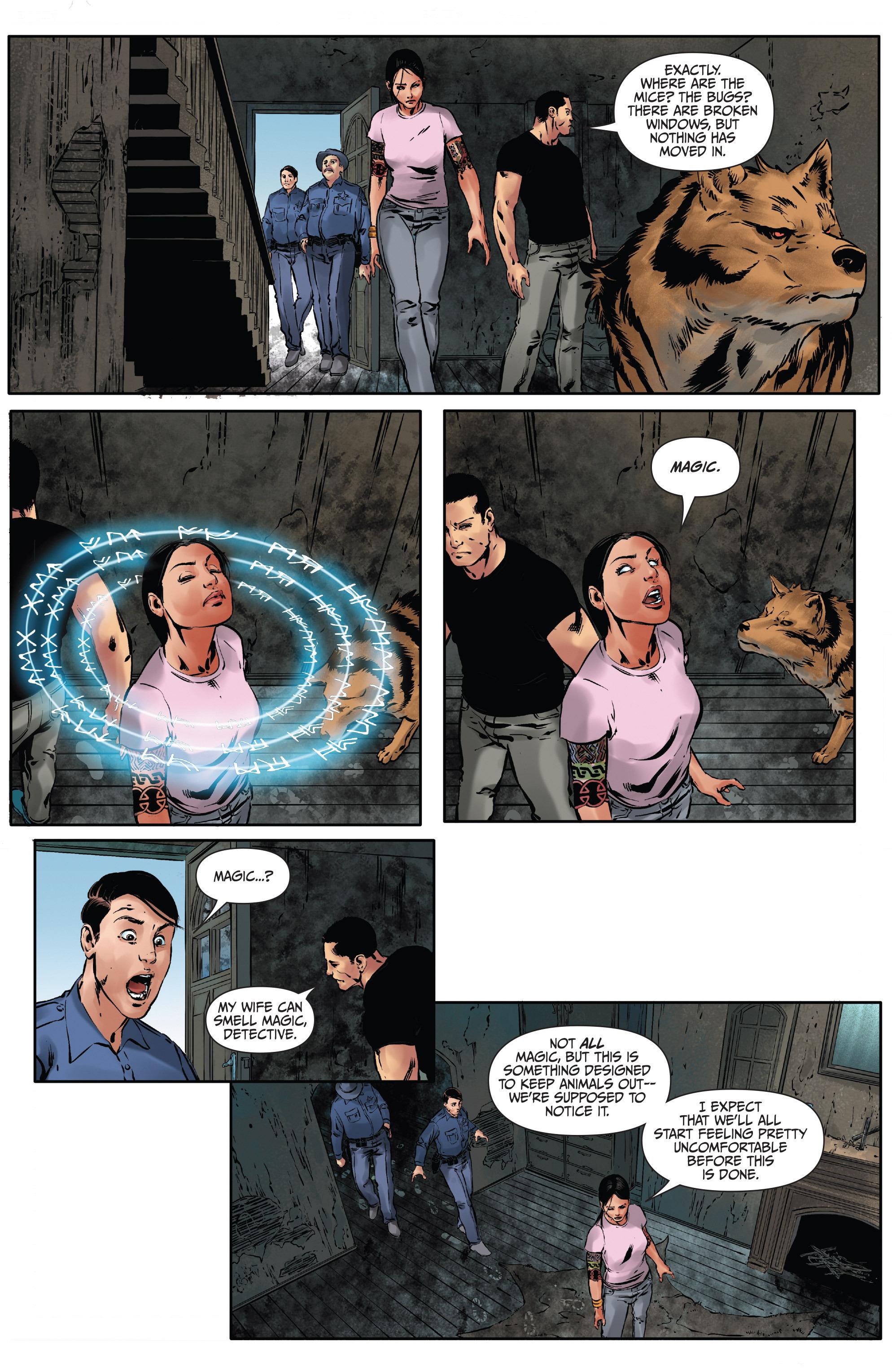 Read online Mercy Thompson comic -  Issue #2 - 22