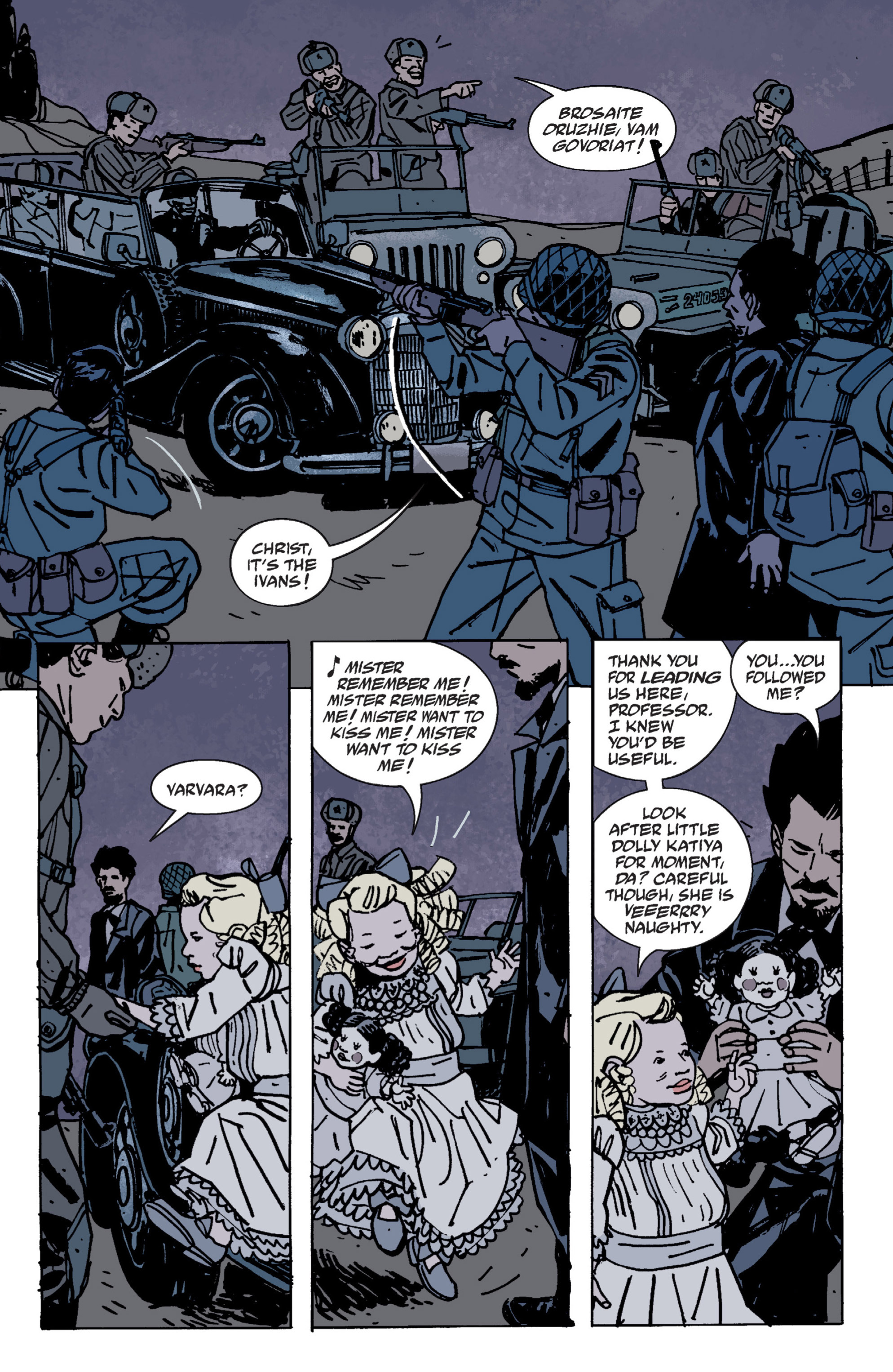 Read online B.P.R.D. (2003) comic -  Issue # TPB 9 - 45