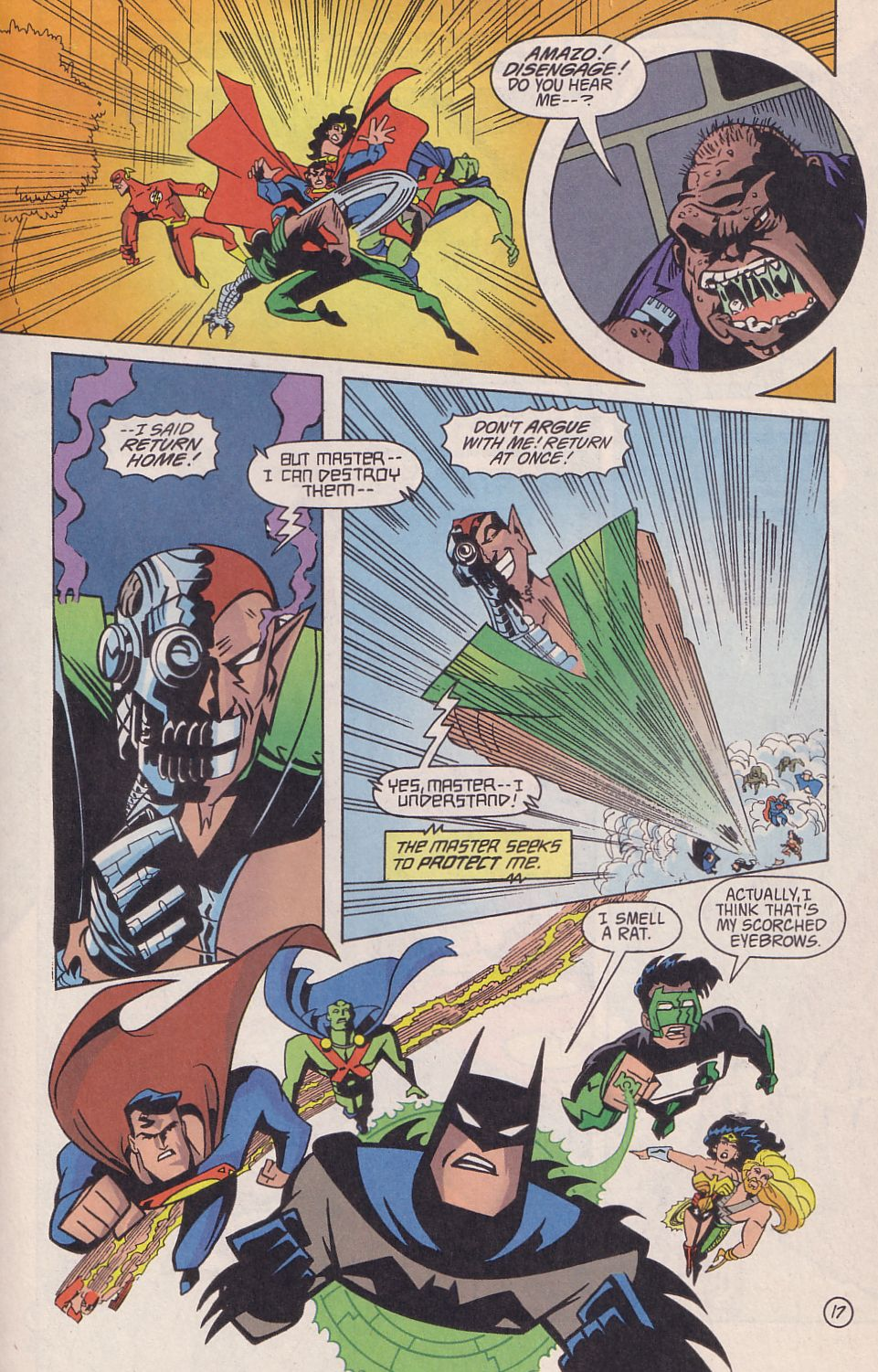 Read online Adventures in the DC Universe comic -  Issue #18 - 18
