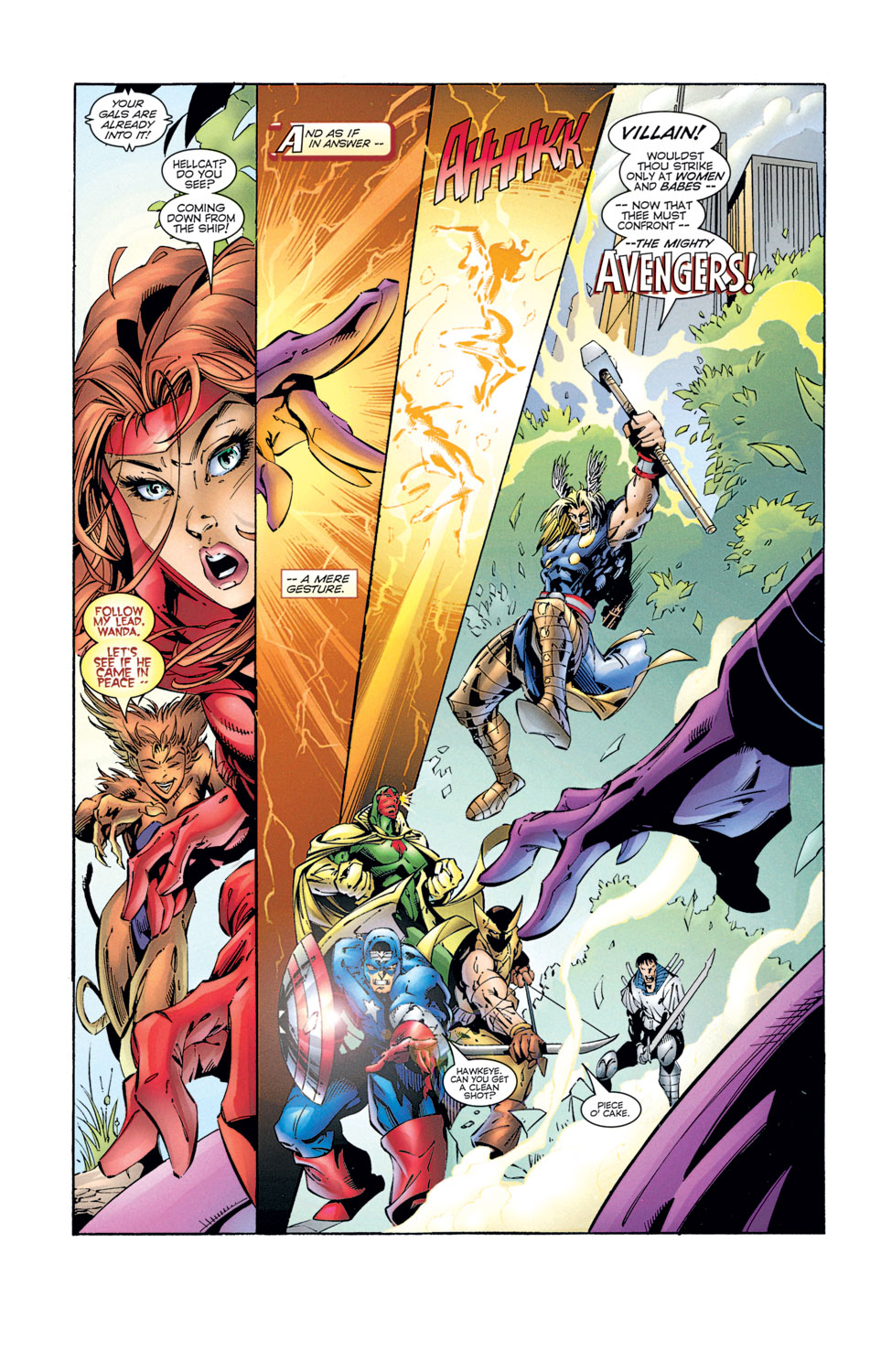 Read online Avengers (1996) comic -  Issue #2 - 9