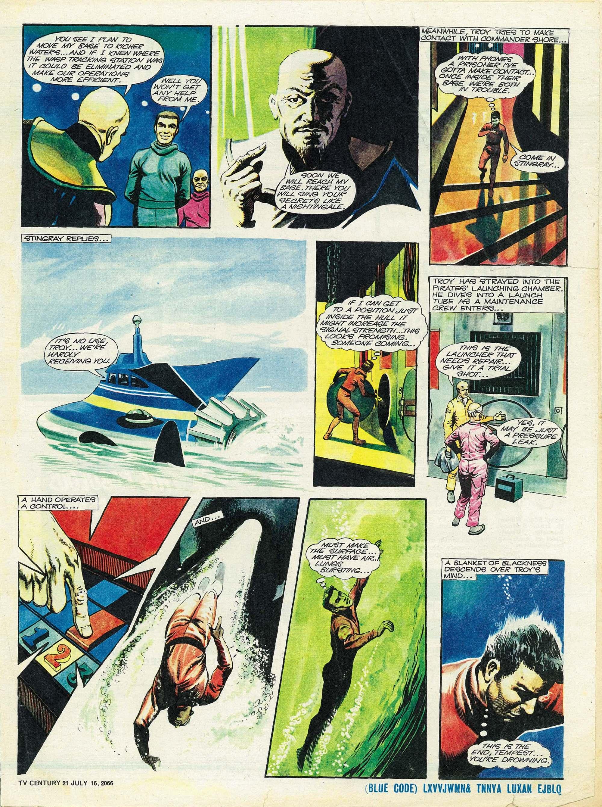 Read online TV Century 21 (TV 21) comic -  Issue #78 - 5