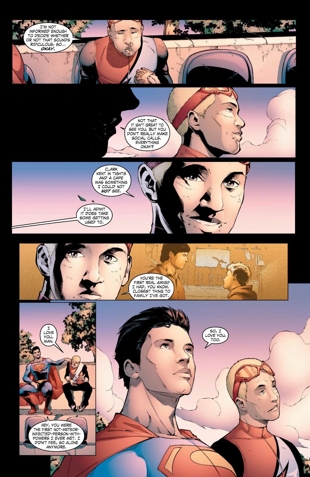 Read online Smallville Season 11 [II] comic -  Issue # TPB 3 - 24