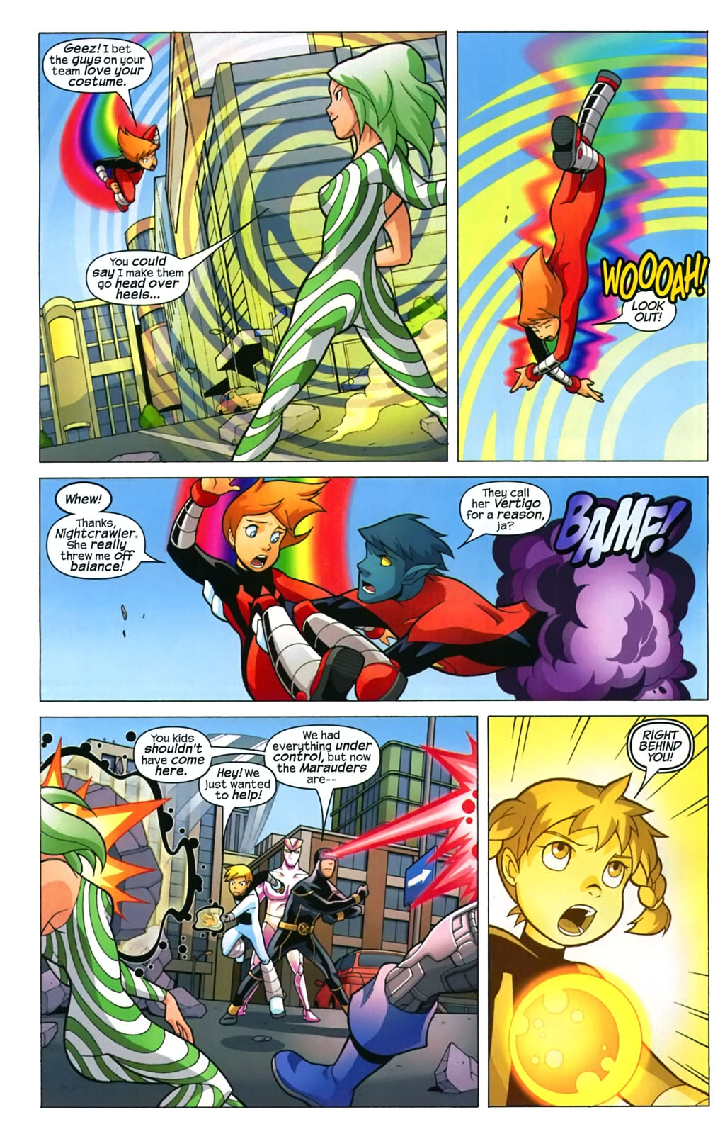 Read online X-Men and Power Pack comic -  Issue #4 - 5