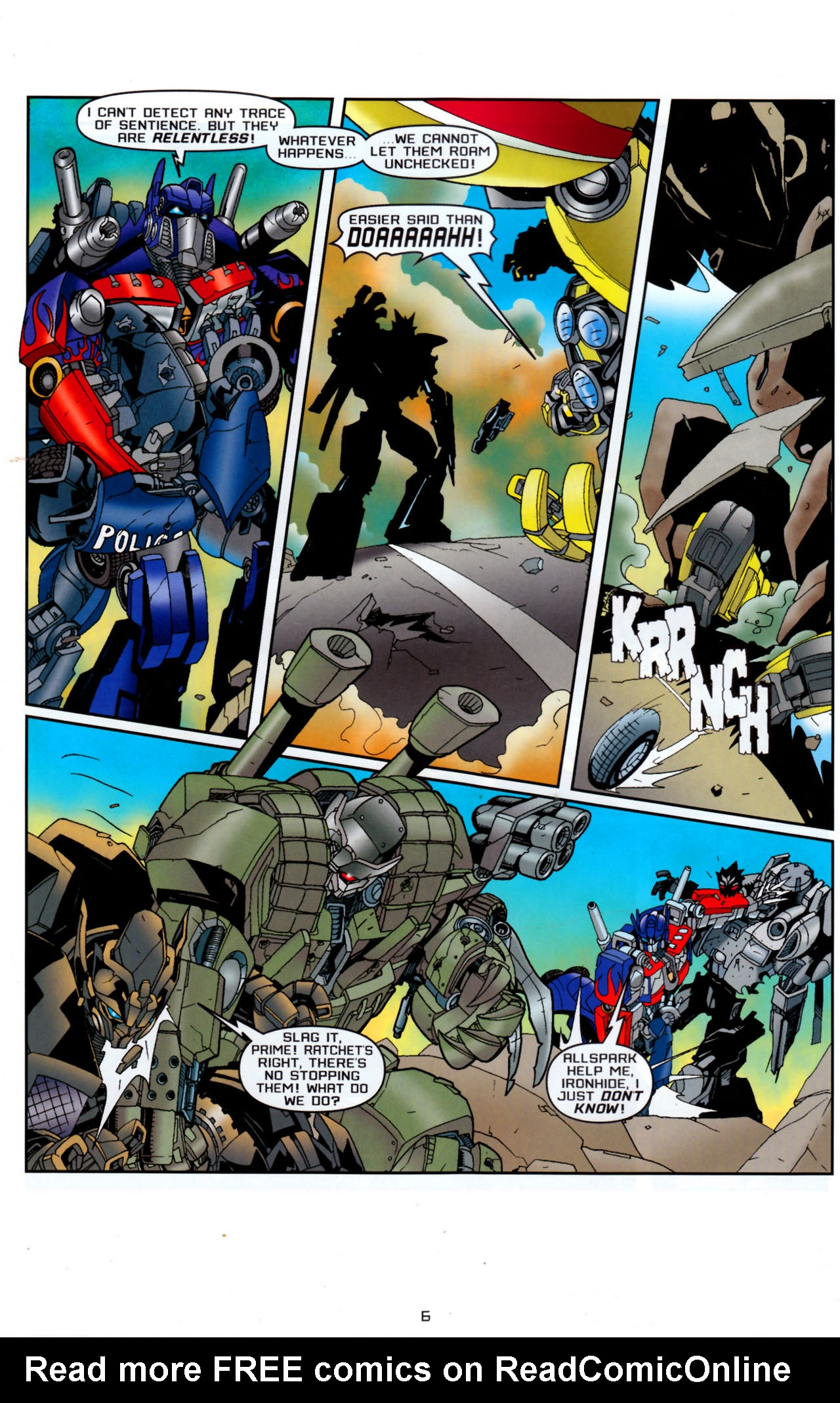 Read online Transformers: Saga of the Allspark comic -  Issue #4 - 9