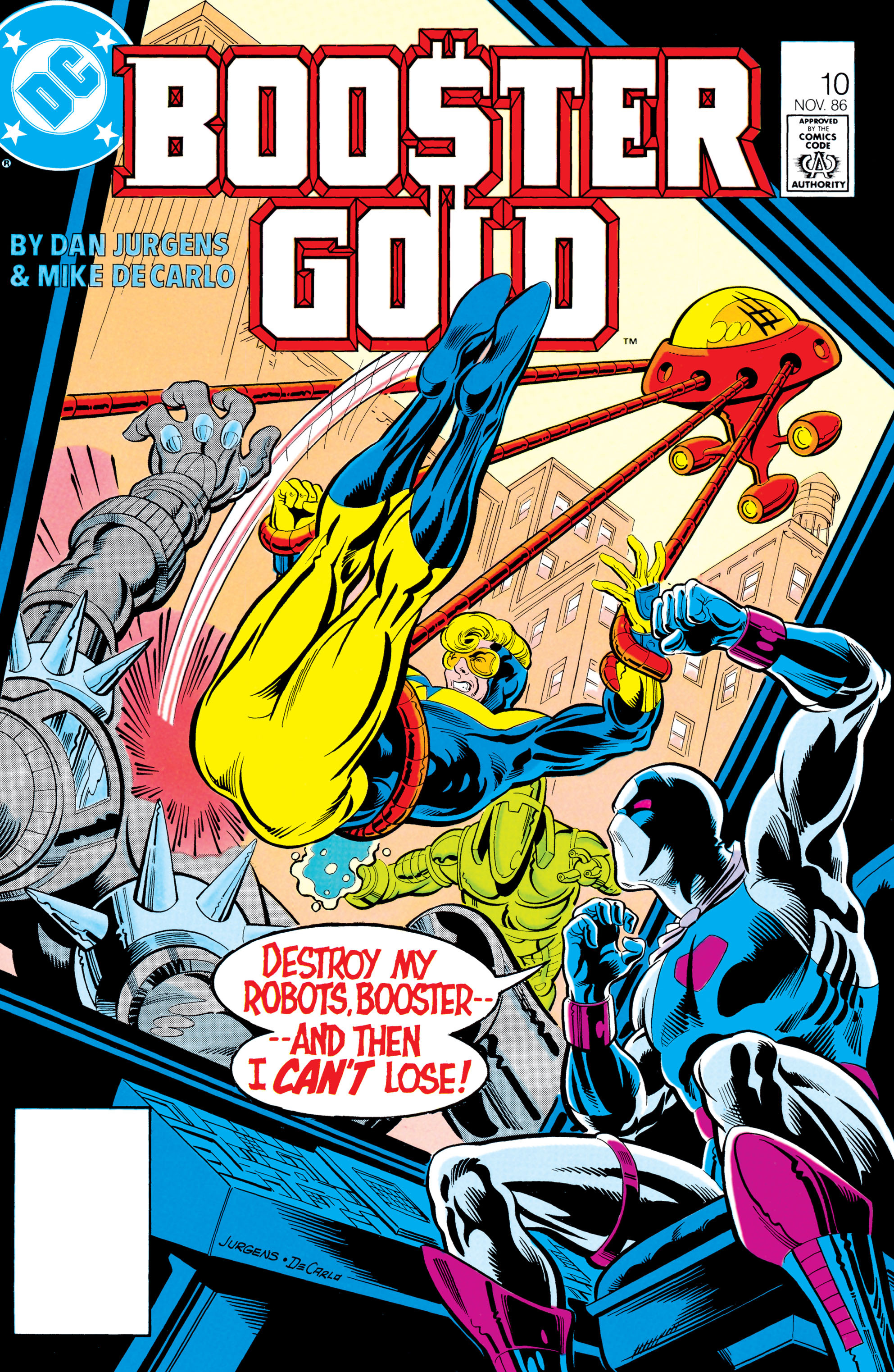 Booster Gold 1986 Issue 10