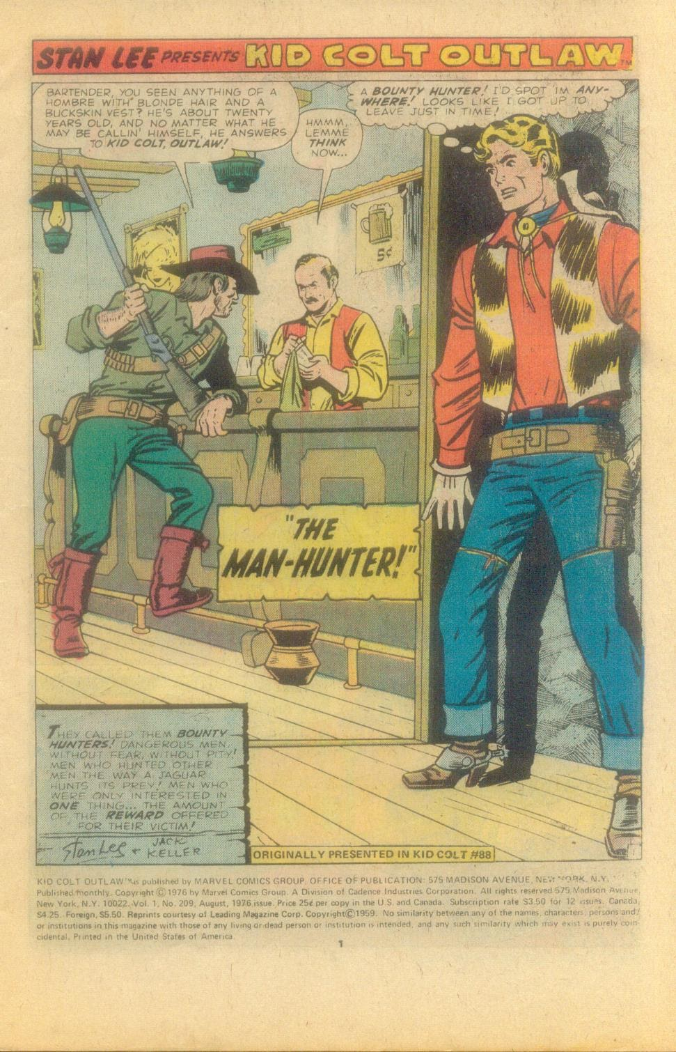 Kid Colt Outlaw issue 209 - Page 3
