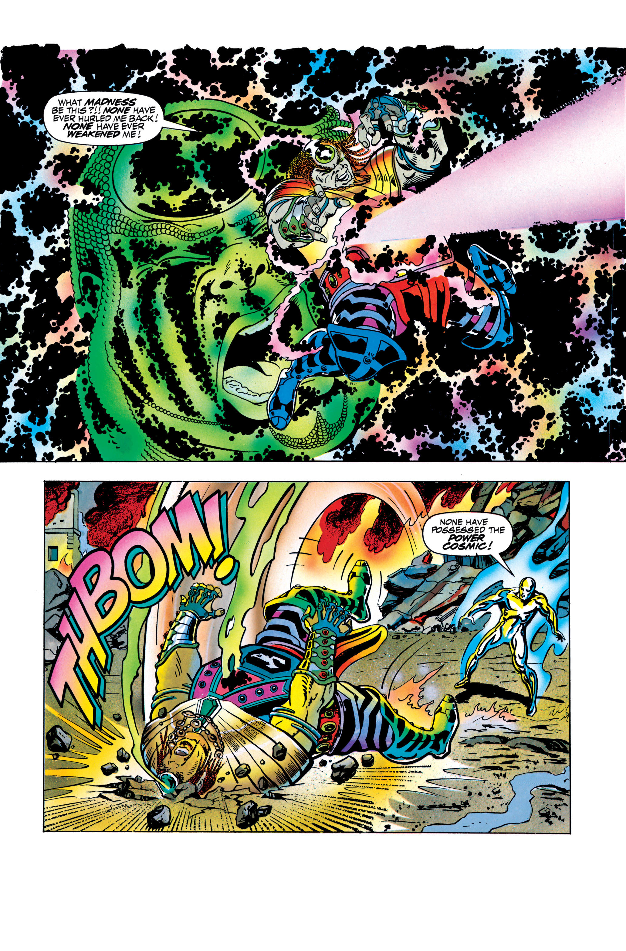Read online Silver Surfer: Parable comic -  Issue # TPB - 126