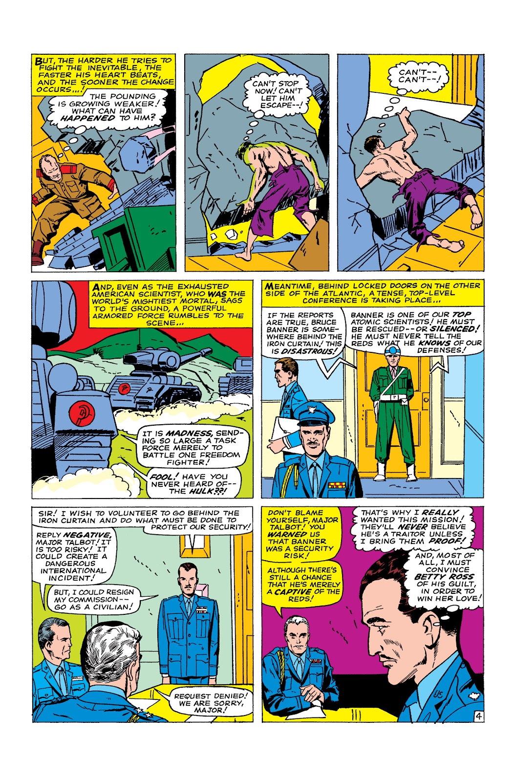Read online Marvel Masterworks: The Incredible Hulk comic -  Issue # TPB 2 (Part 1) - 94