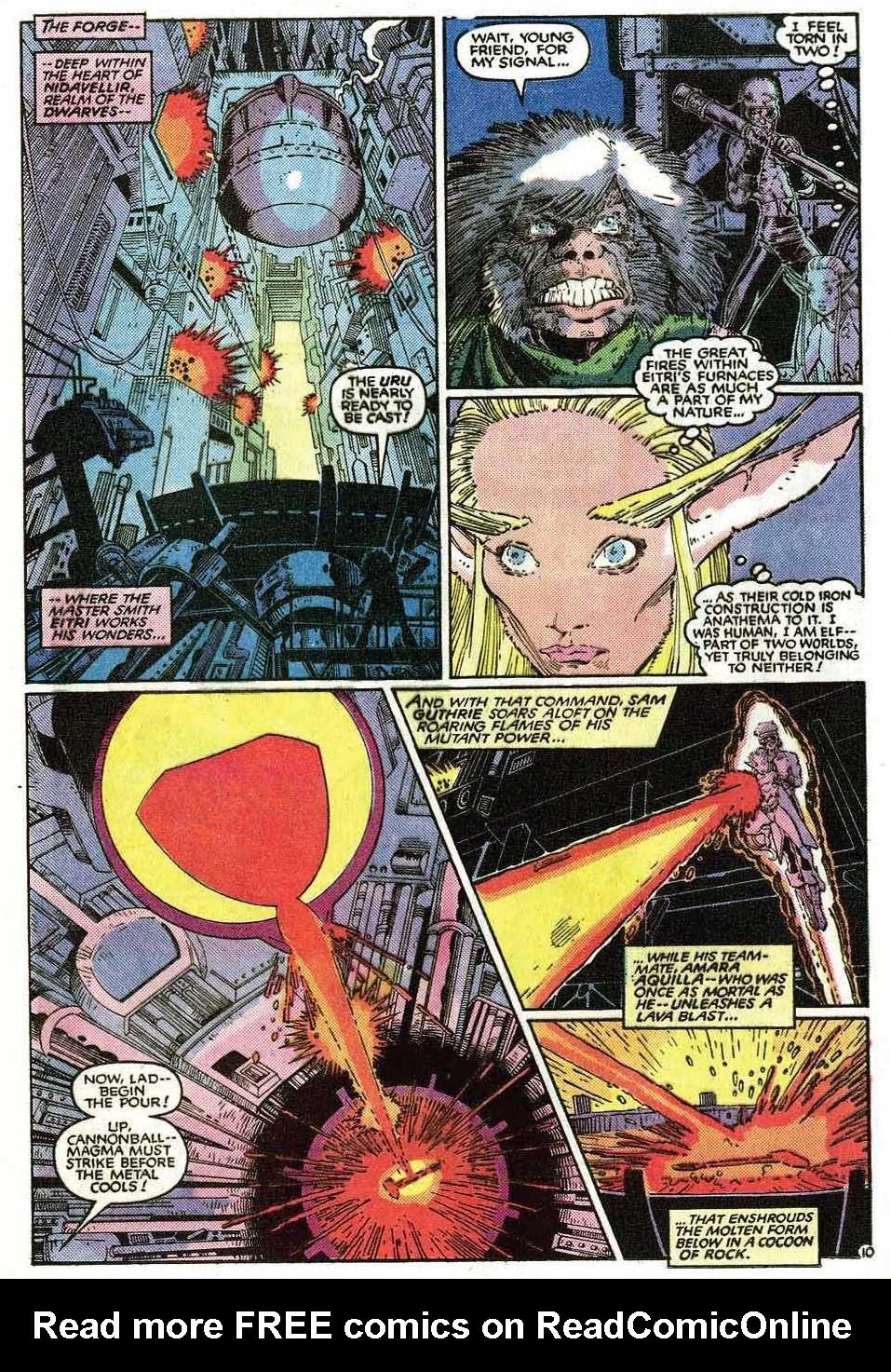 Read online Uncanny X-Men (1963) comic -  Issue # _Annual 9 - 12