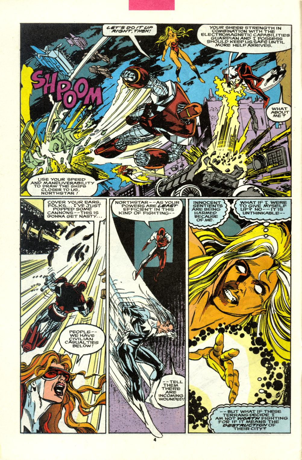 Read online Alpha Flight (1983) comic -  Issue #98 - 5