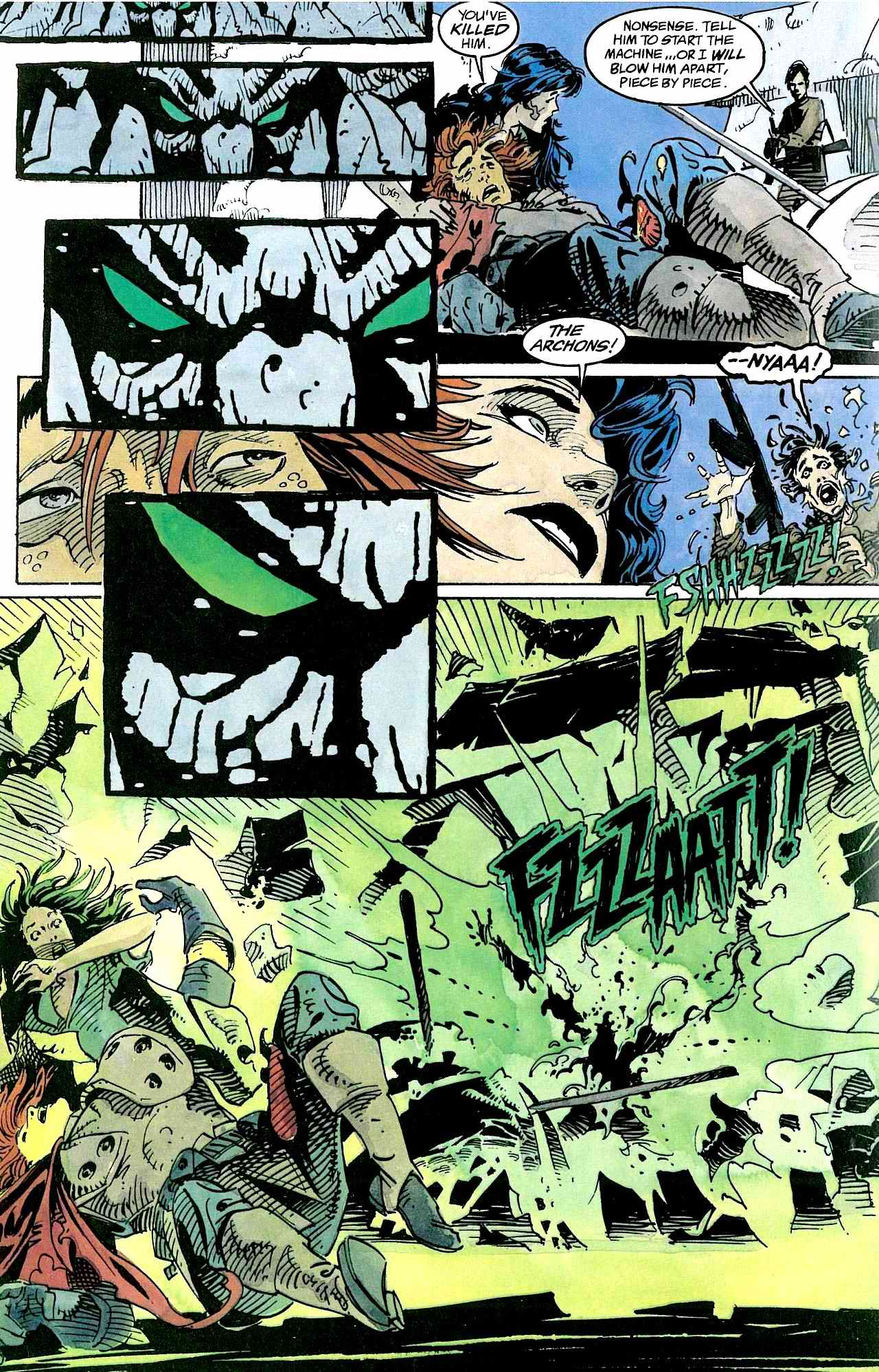 Read online Clash comic -  Issue #3 - 26