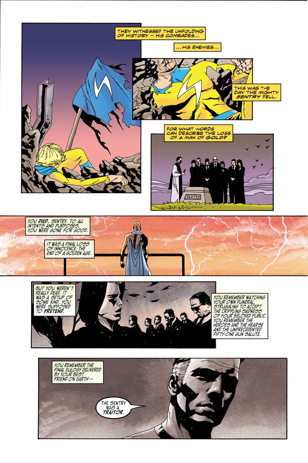 Read online Sentry (2000) comic -  Issue #5 - 8