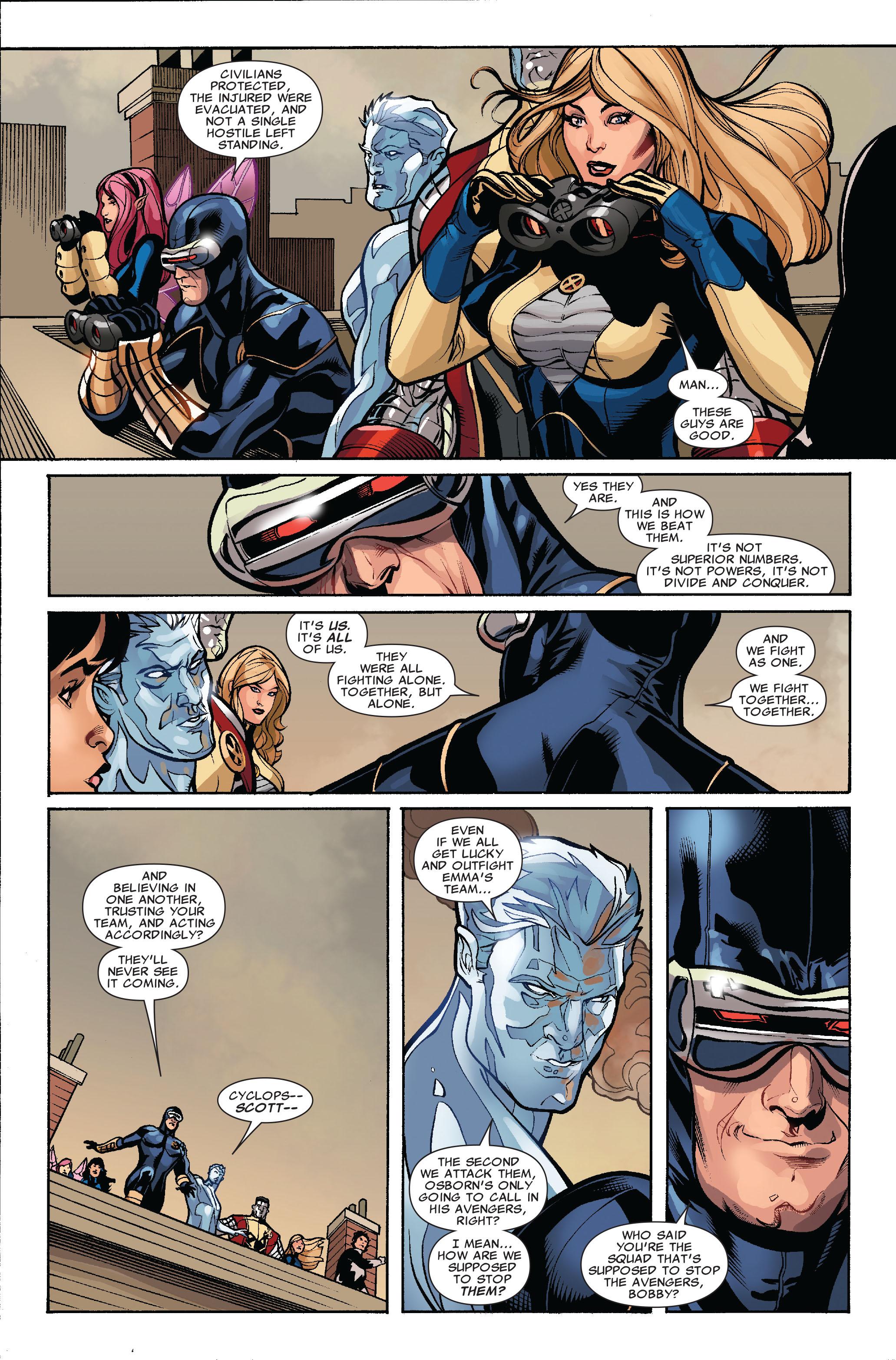 Read online Uncanny X-Men (1963) comic -  Issue #514 - 22