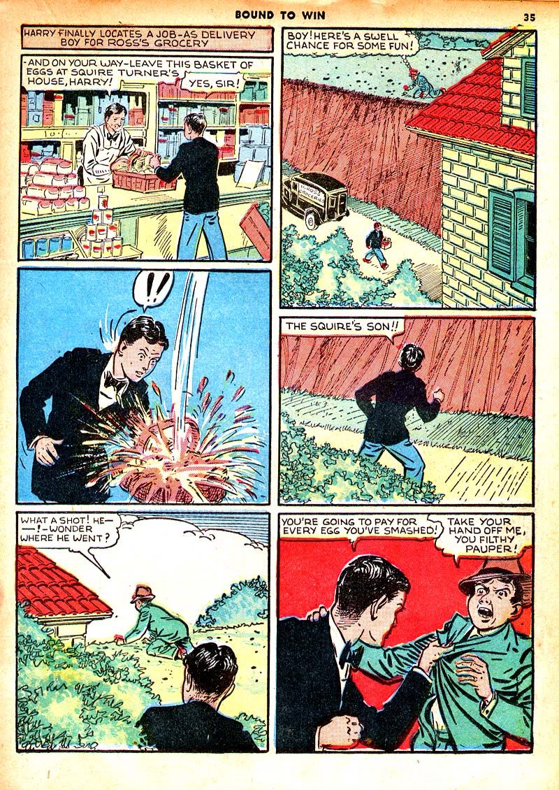 Read online Shadow Comics comic -  Issue #7 - 28