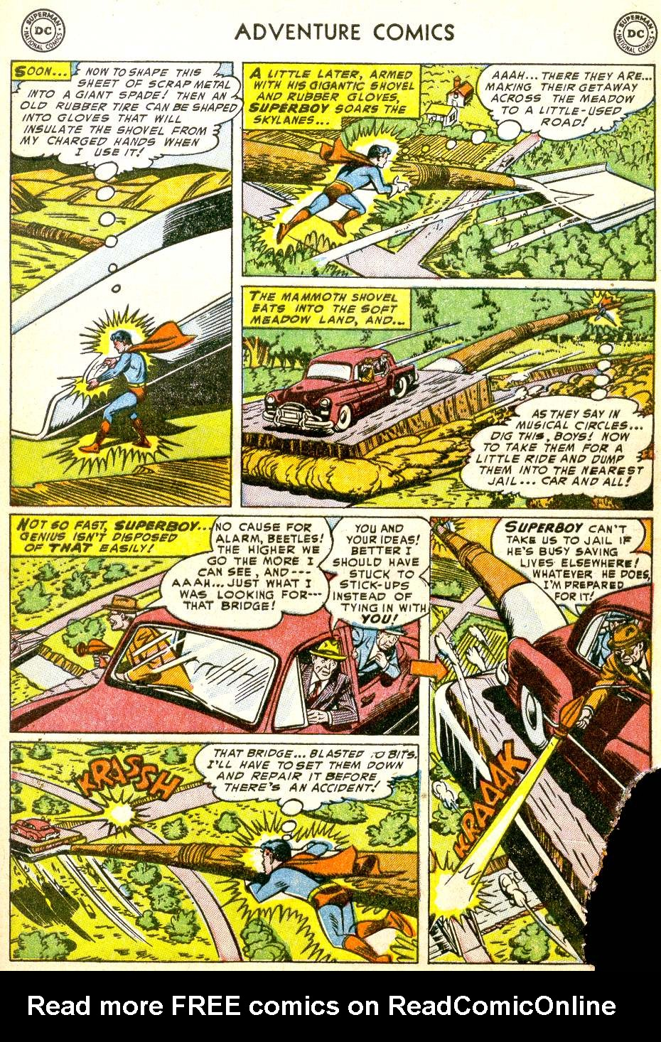 Read online Adventure Comics (1938) comic -  Issue #194 - 7