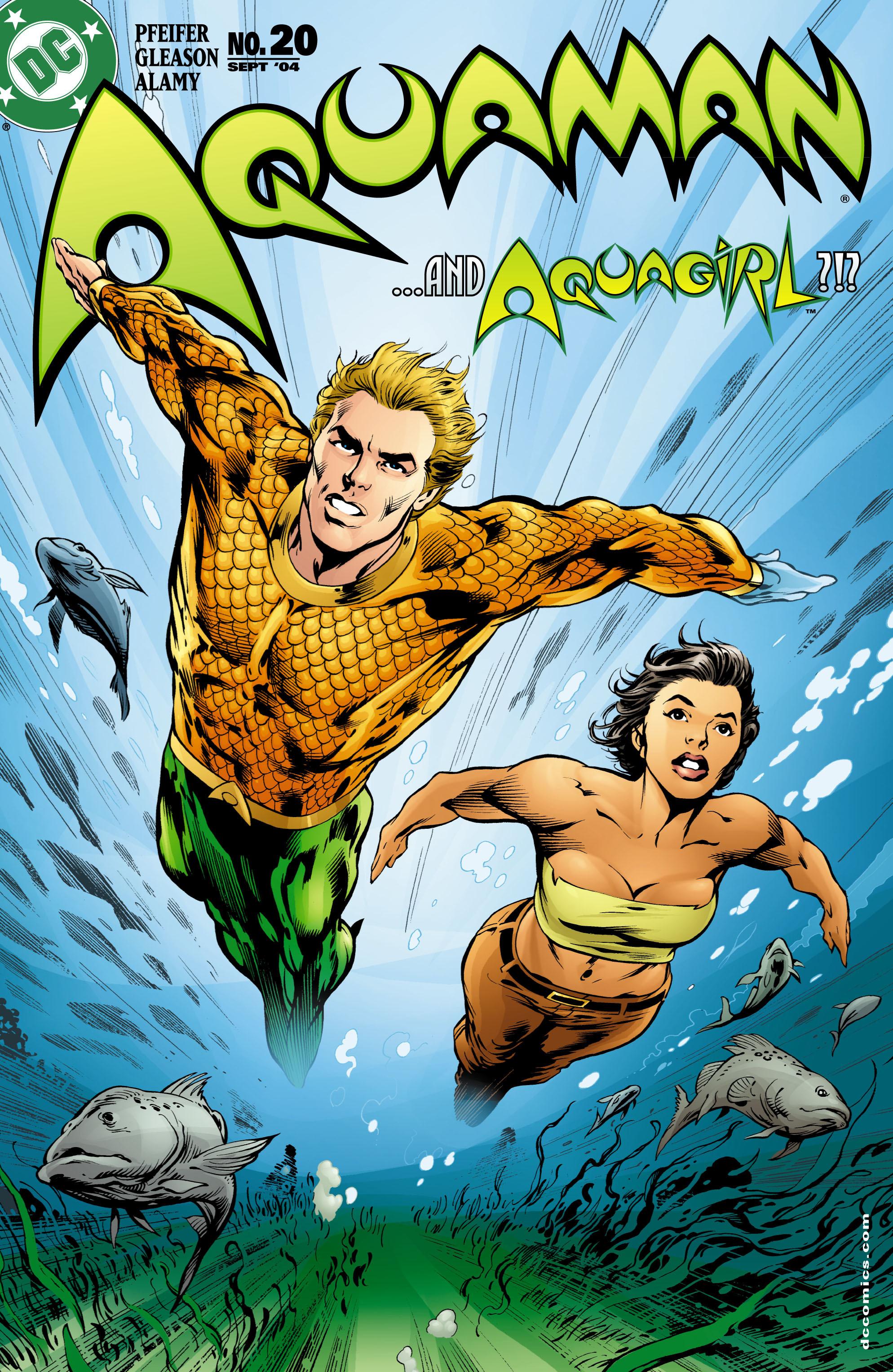Read online Aquaman (2003) comic -  Issue #20 - 1
