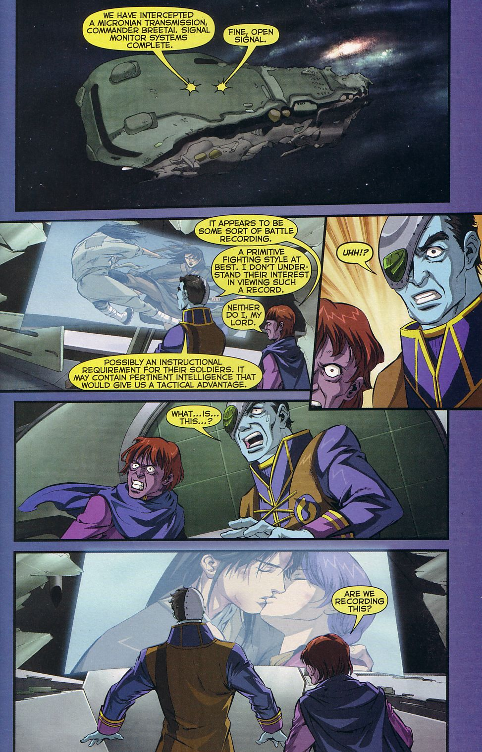 Read online Robotech: Love and War comic -  Issue #5 - 21