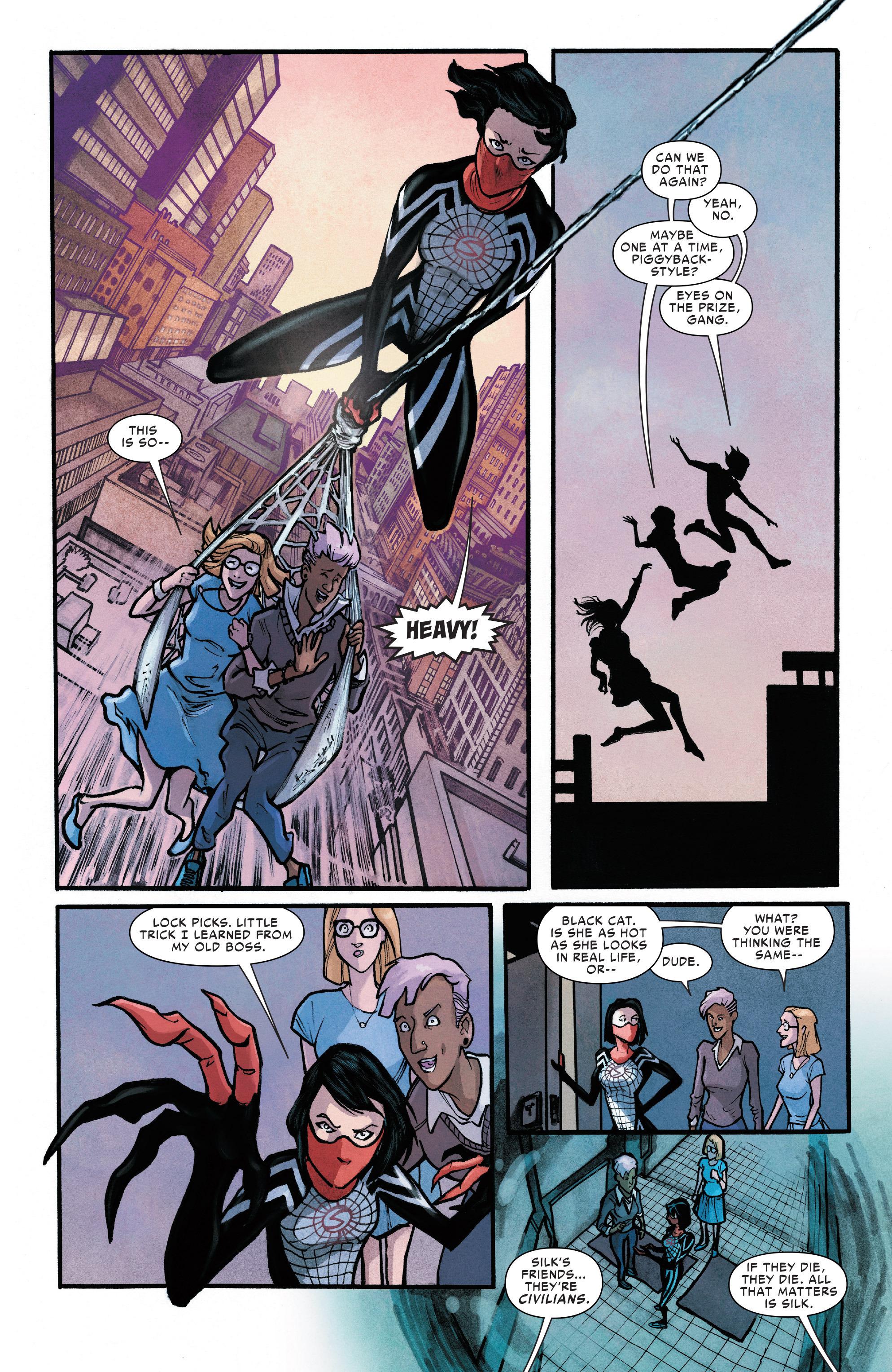 Read online Silk (2016) comic -  Issue #11 - 19