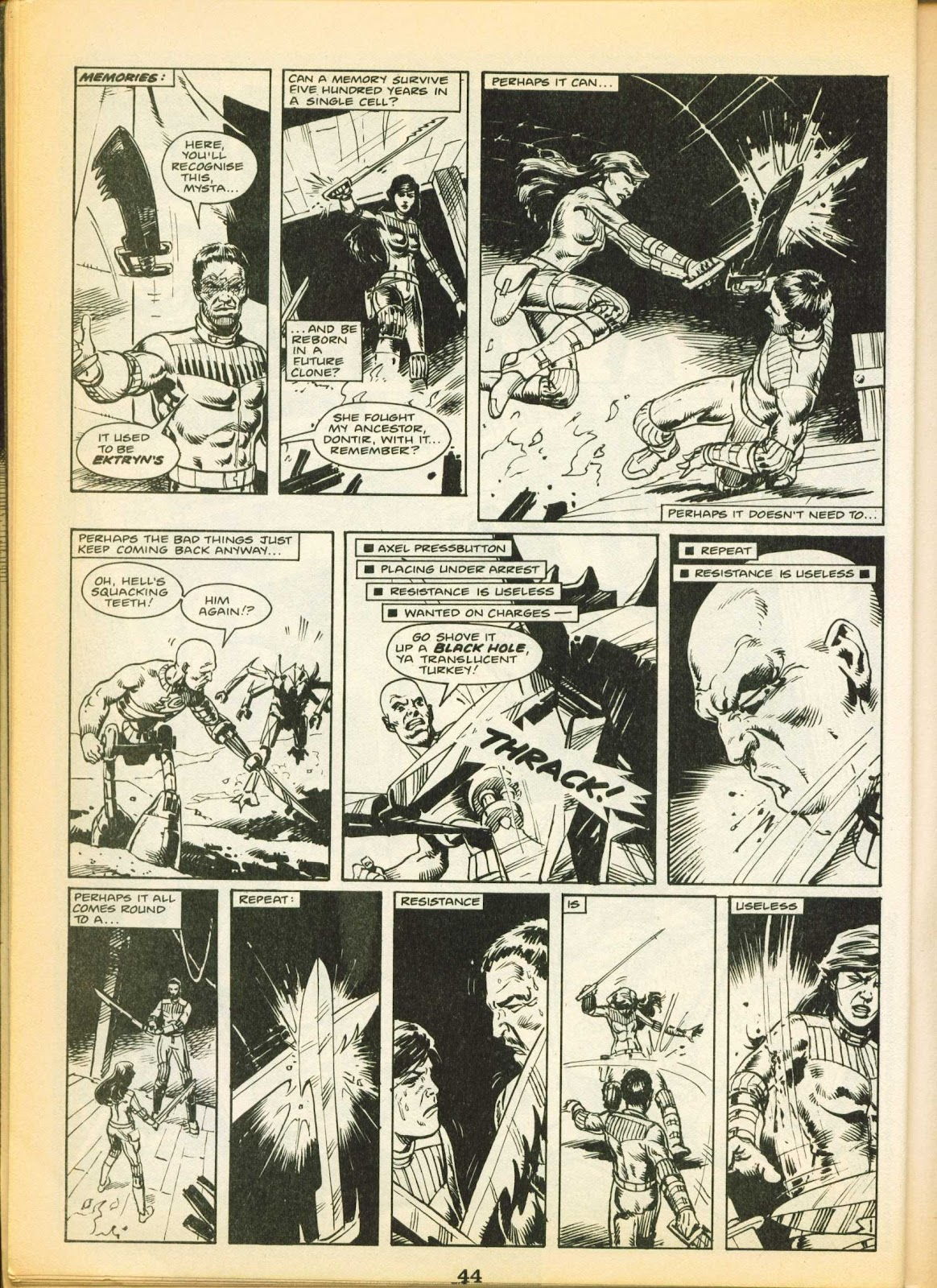 Warrior Issue #11 #12 - English 44