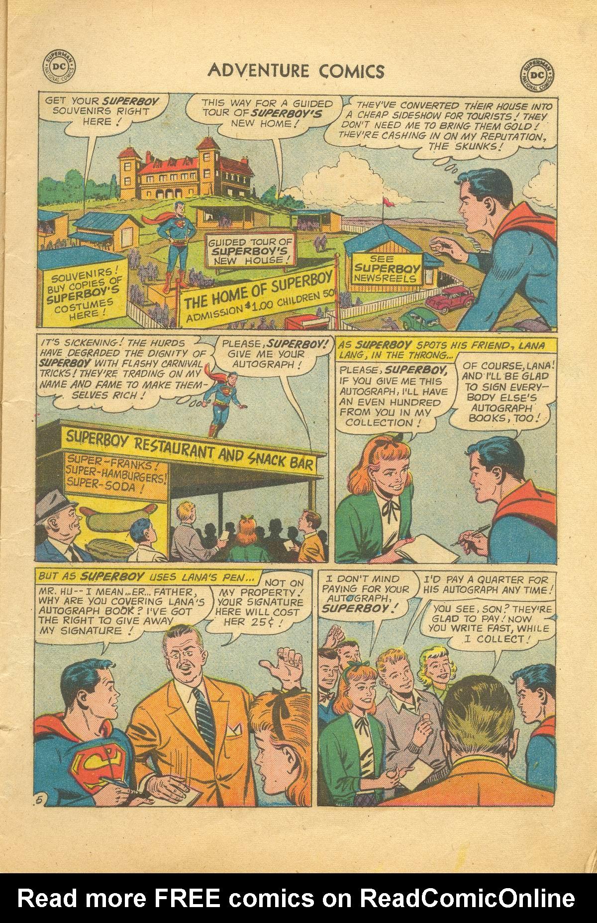 Read online Adventure Comics (1938) comic -  Issue #281 - 7