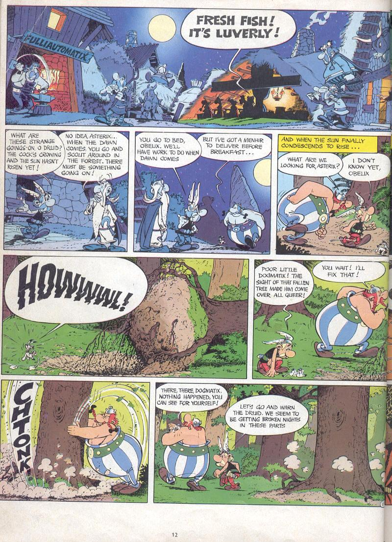 Read online Asterix comic -  Issue #17 - 10
