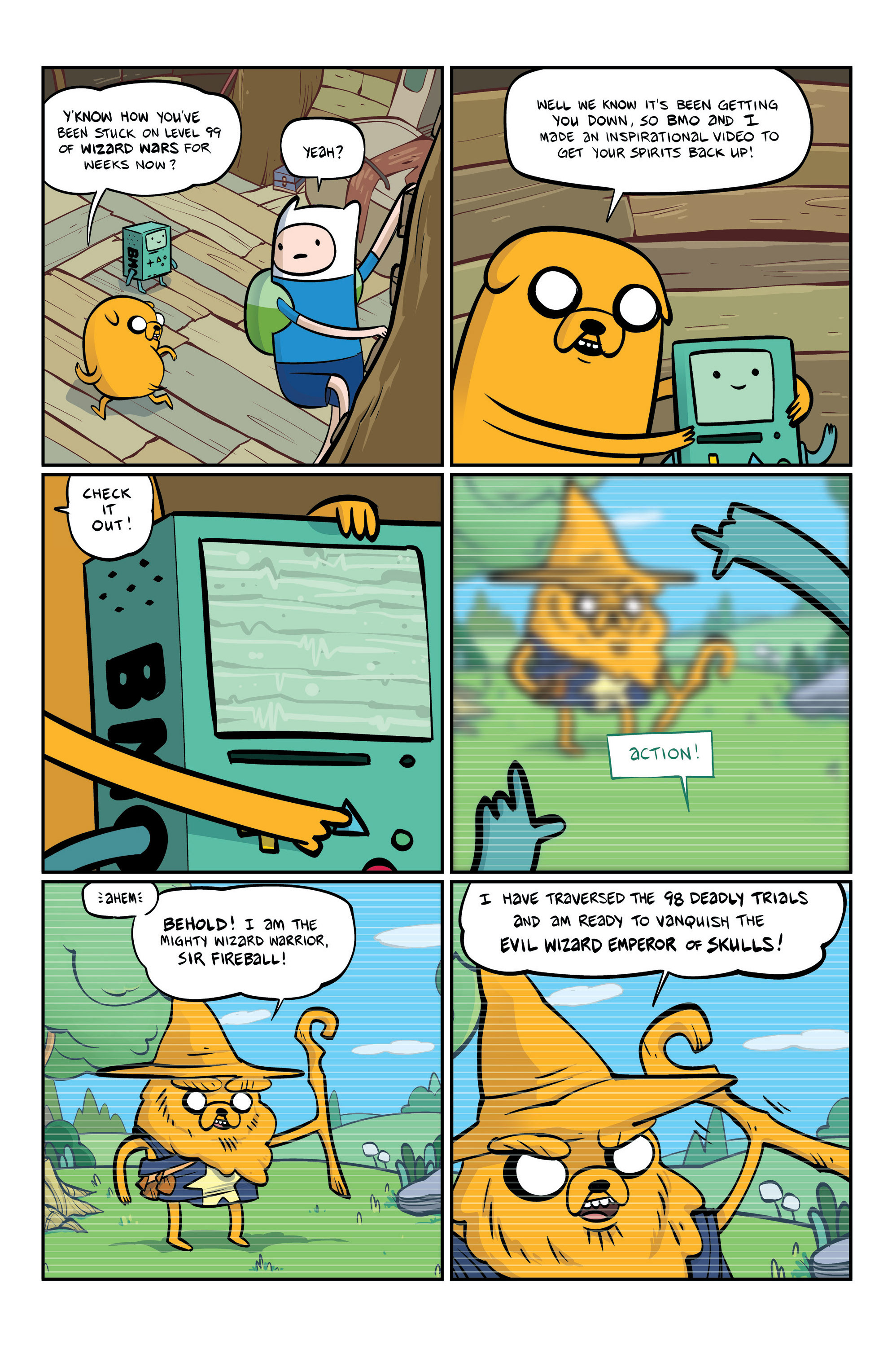 Read online Adventure Time comic -  Issue #6 - 23
