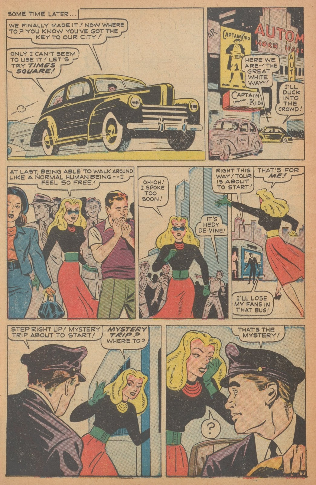 Read online Nellie The Nurse (1945) comic -  Issue #18 - 22