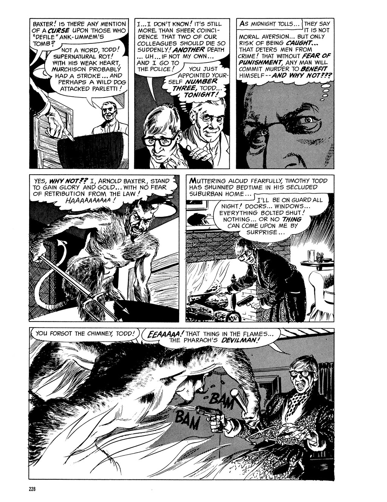 Read online Eerie Archives comic -  Issue # TPB 3 - 229