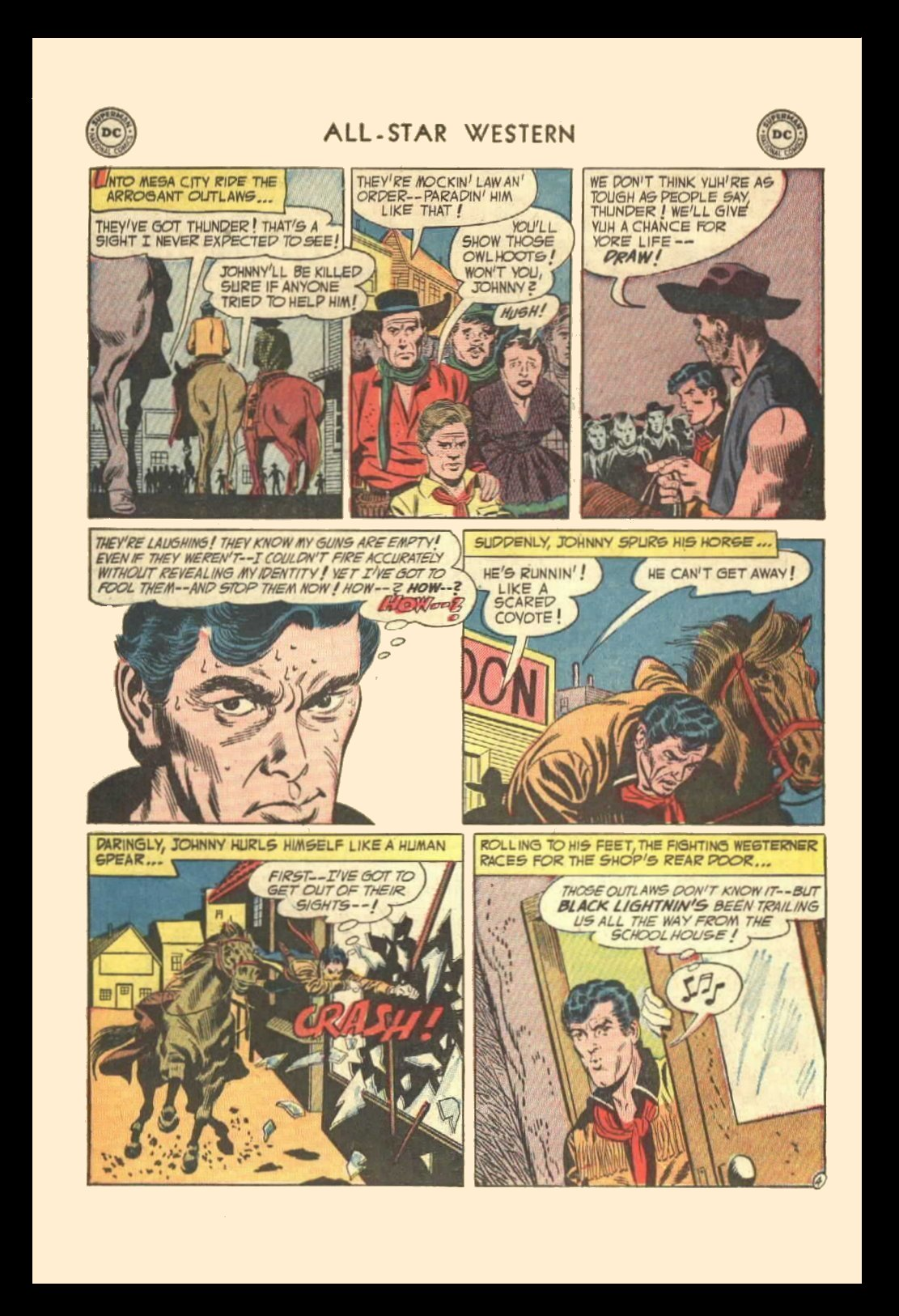Read online All-Star Western (1951) comic -  Issue #72 - 6