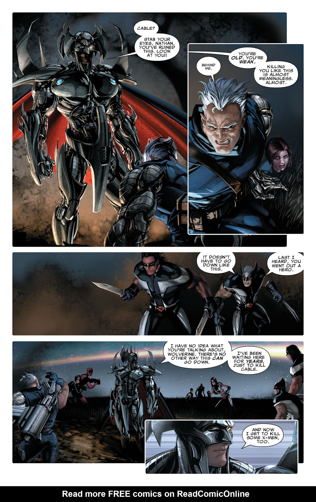 Read online X-Force/Cable: Messiah War comic -  Issue # _TPB (Part 2) - 33