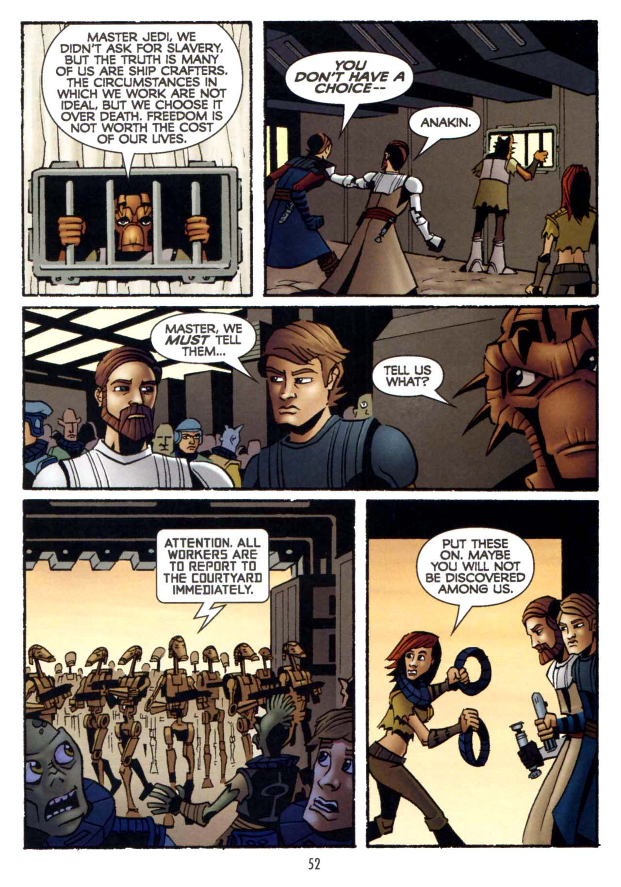 Read online Star Wars: The Clone Wars - Shipyards of Doom comic -  Issue # Full - 50