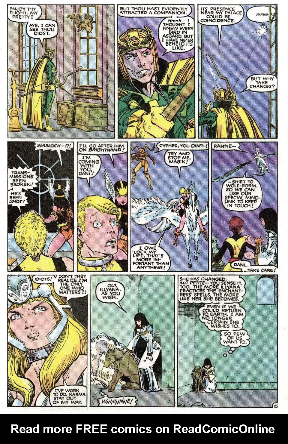 Read online Uncanny X-Men (1963) comic -  Issue # _Annual 9 - 17