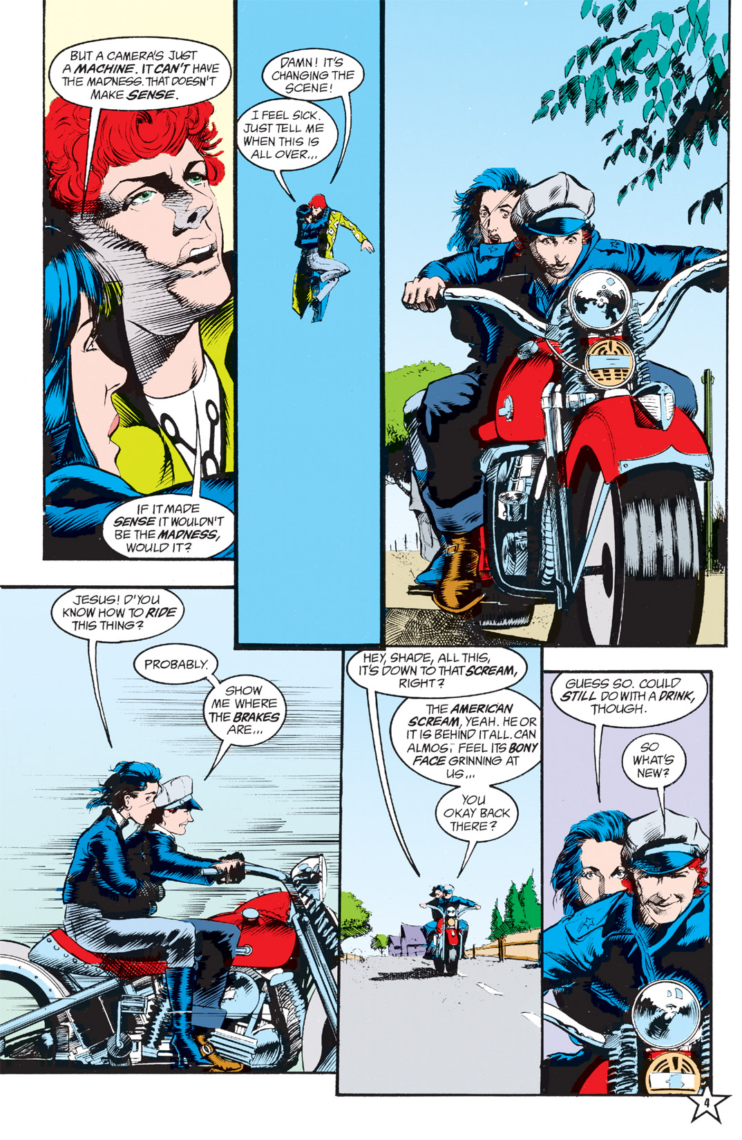 Read online Shade, the Changing Man comic -  Issue #6 - 6