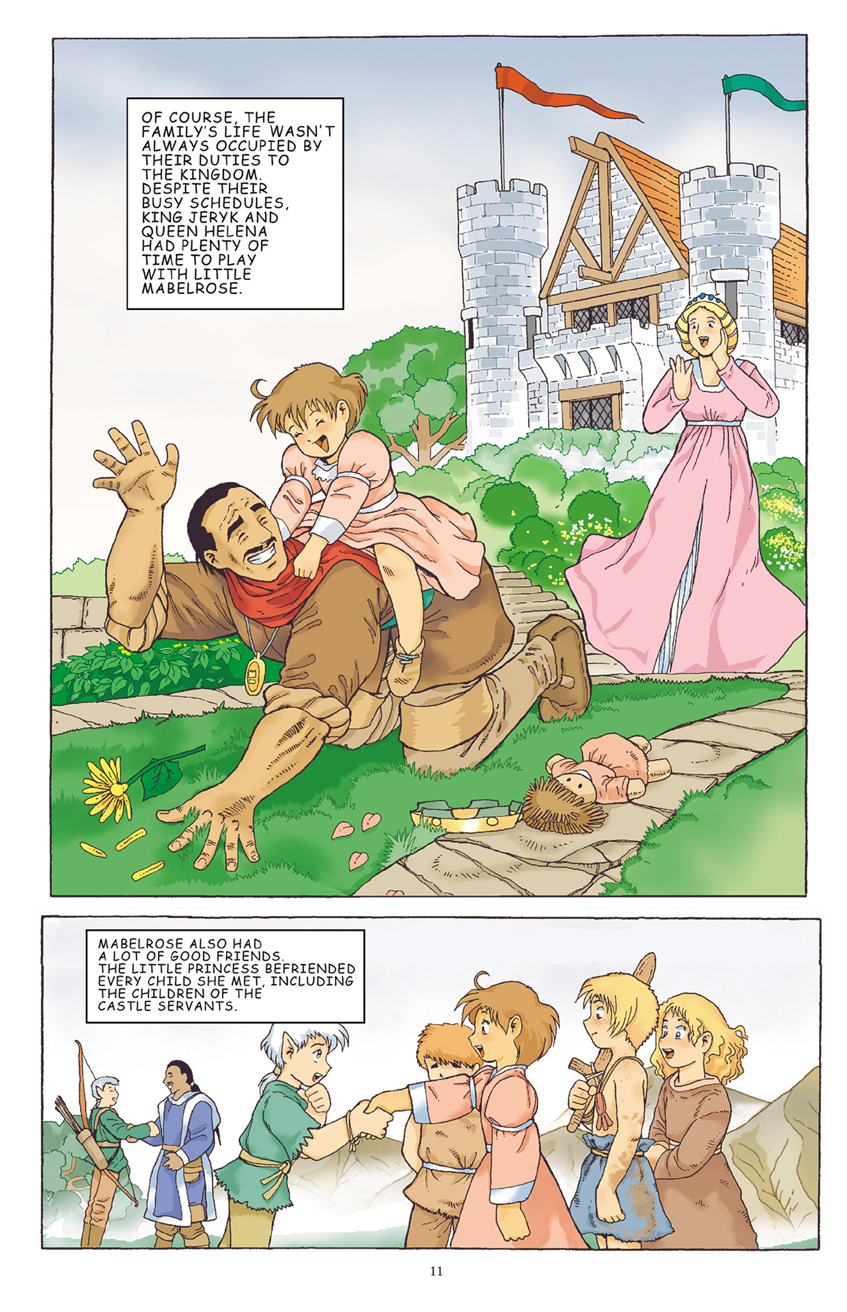 Read online Courageous Princess comic -  Issue # TPB 1 - 12