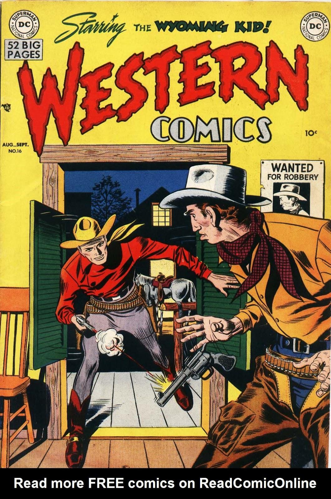 Western Comics 16 Page 1