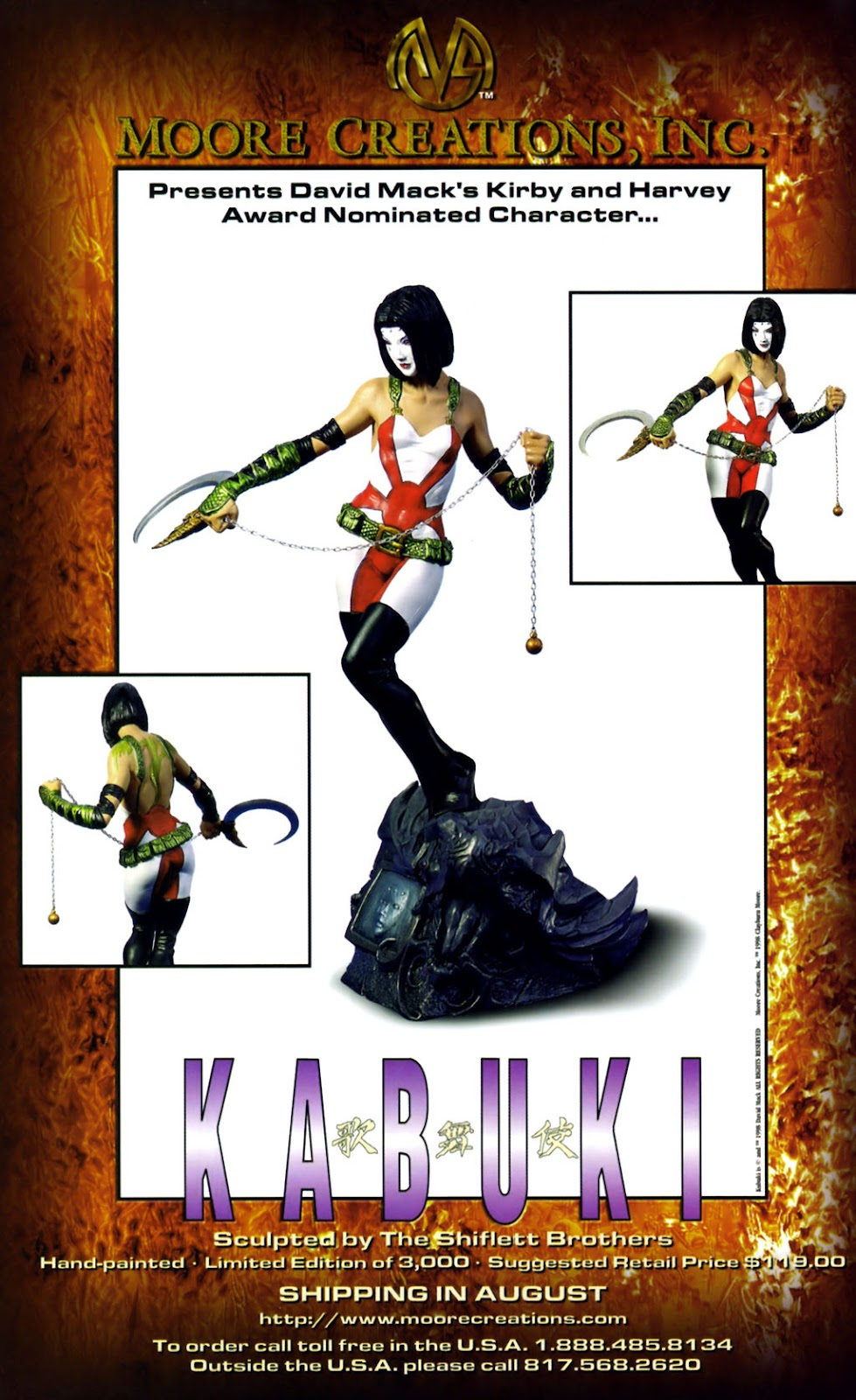 Read online Kabuki: Reflections comic -  Issue #1 - 50