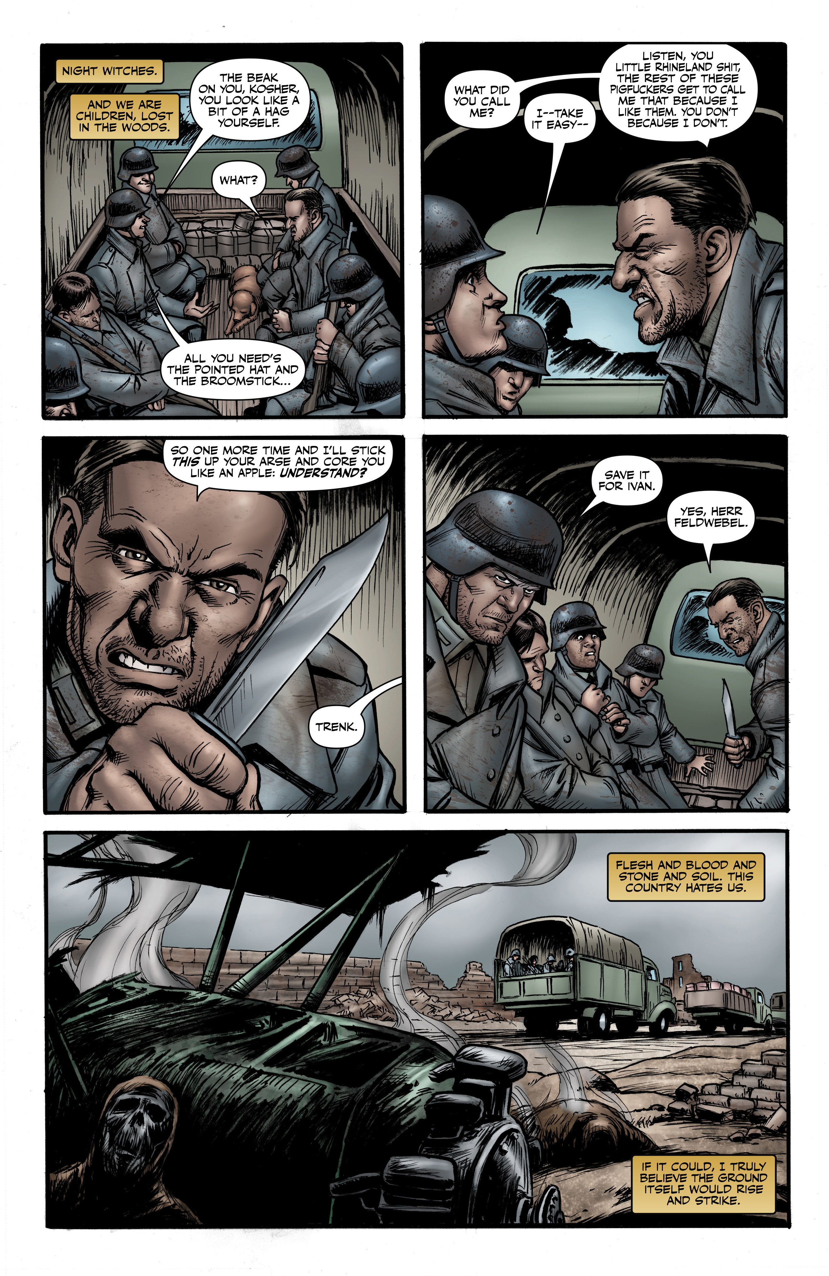 Read online Battlefields: Night Witches comic -  Issue # TPB - 35