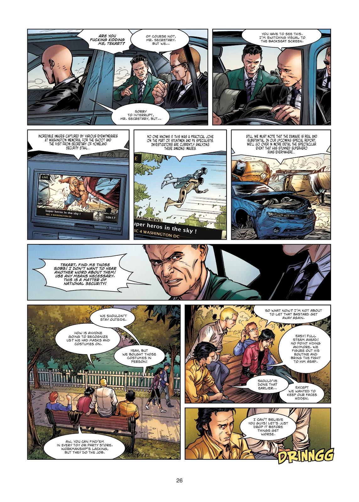 Read online Vigilantes comic -  Issue #4 - 26