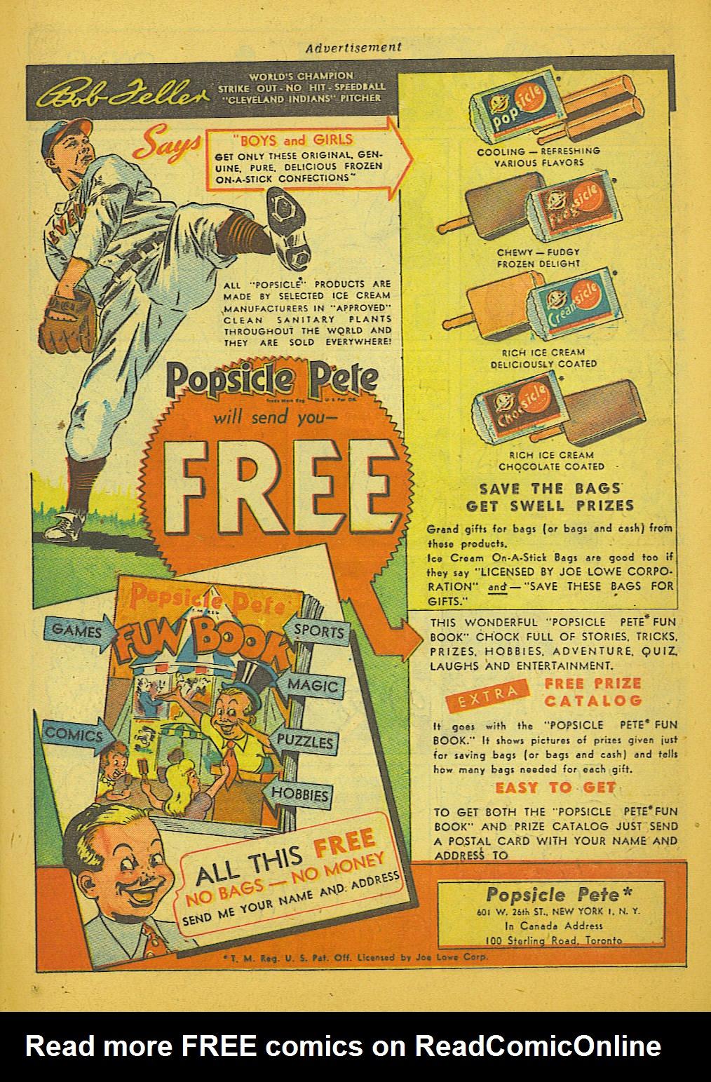 Read online Sensation (Mystery) Comics comic -  Issue #66 - 23
