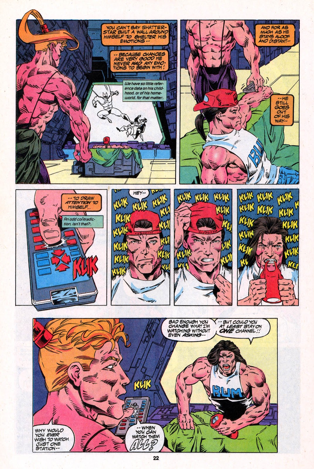X-Force (1991) Issue #26 #31 - English 22