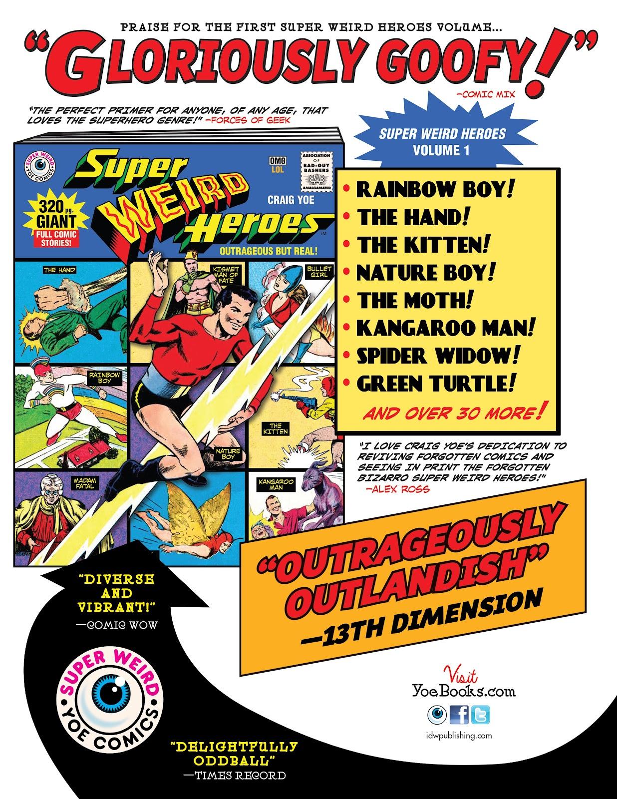 Read online Super Weird Heroes comic -  Issue # TPB 2 (Part 3) - 130