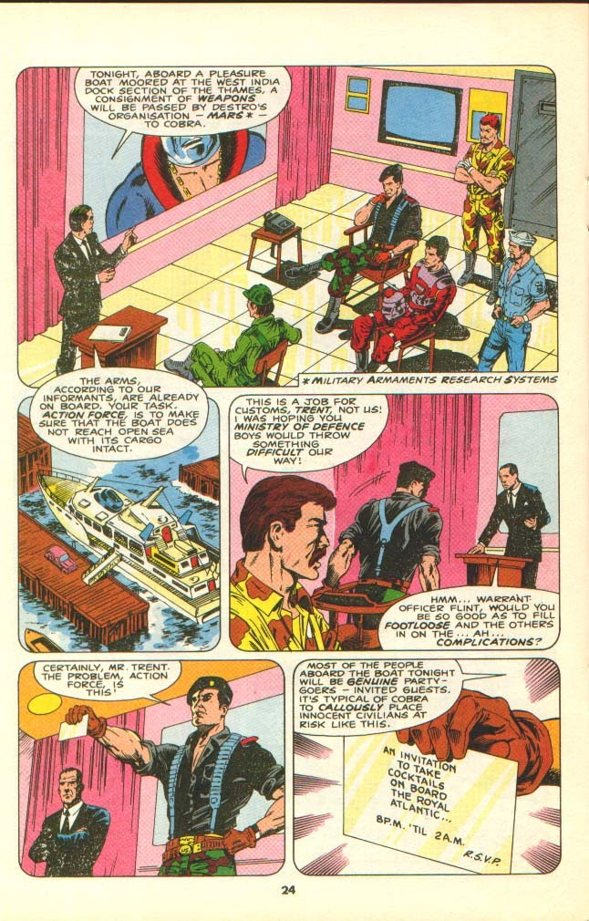 G.I. Joe European Missions issue 7 - Page 22