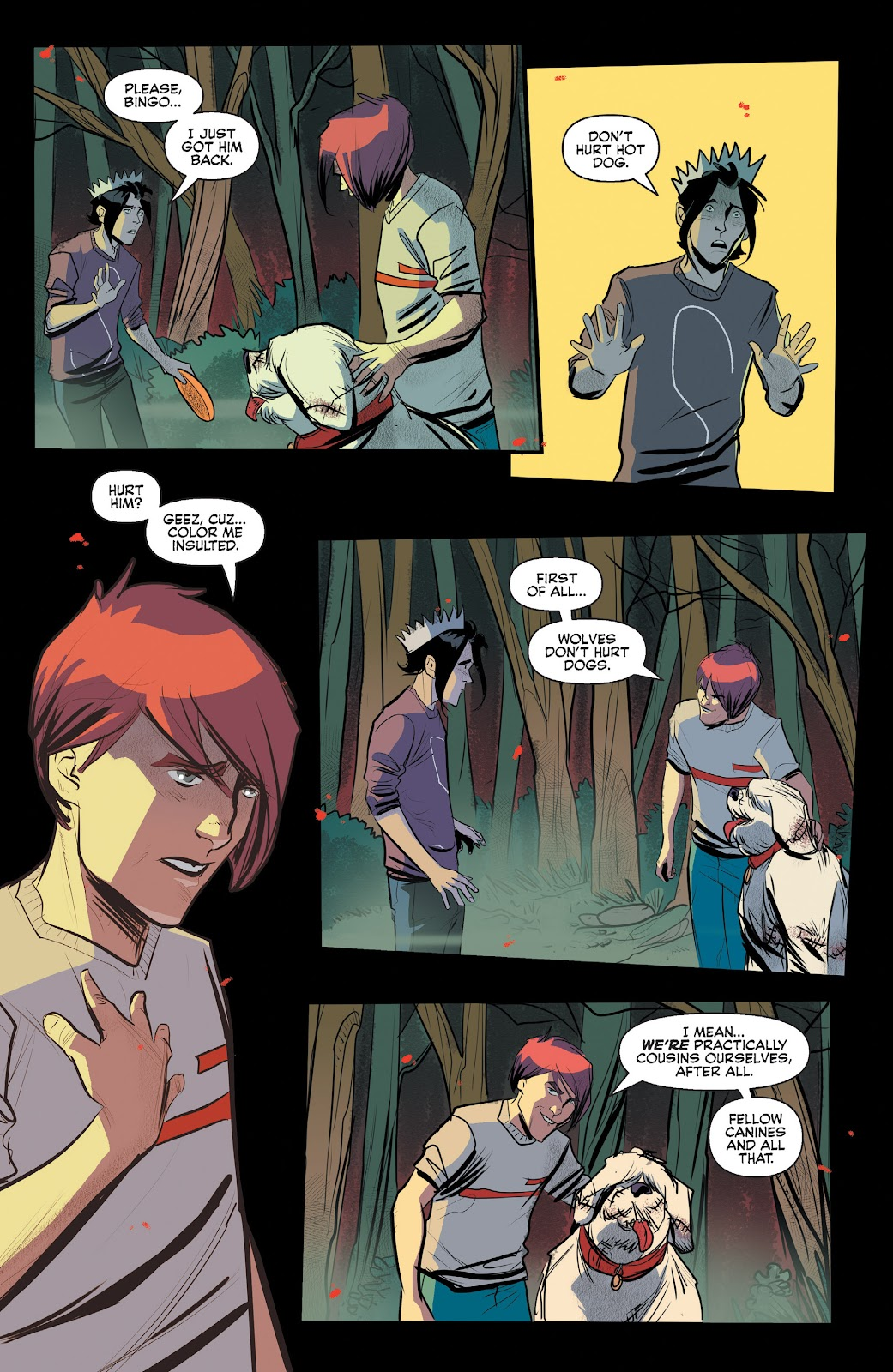 Read online Jughead The Hunger comic -  Issue #12 - 14