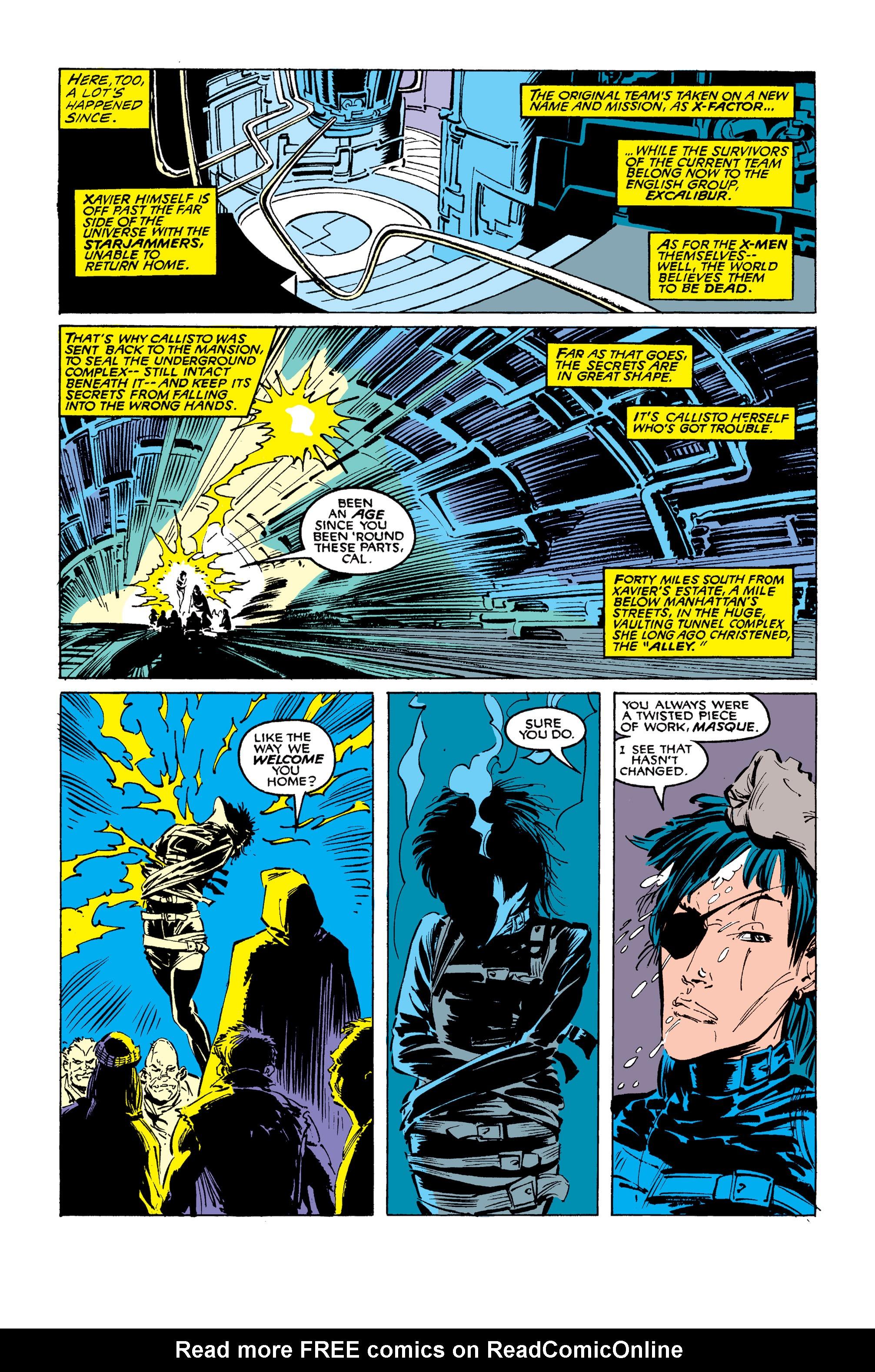 Read online Uncanny X-Men (1963) comic -  Issue #254 - 10
