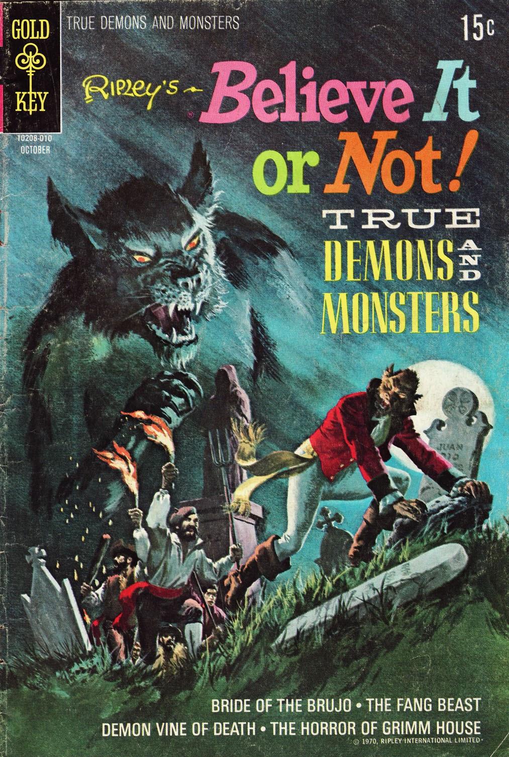 Ripleys Believe it or Not! (1965) 22 Page 1